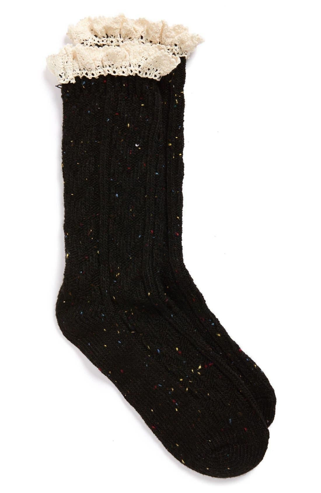 Alternate Image 2  - Free People 'Highlands' Marled Boot Socks