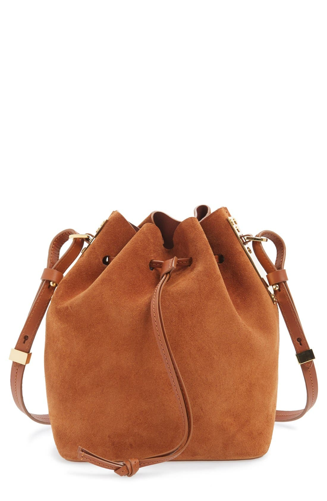 Alternate Image 1 Selected - Sophie Hulme 'Small Nelson' Drawstring Crossbody Bag