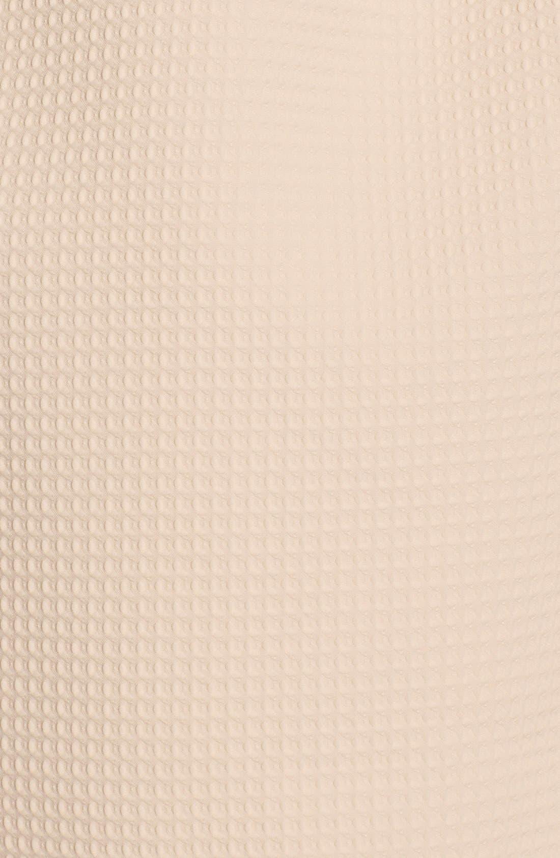 Alternate Image 4  - Elliatt'Perception' Texture PonteFit & Flare Dress