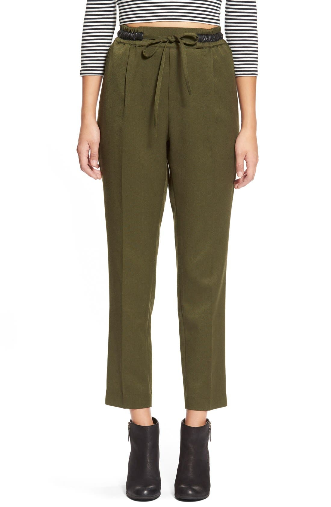 Alternate Image 1 Selected - FlyingTomato Tapered High Rise Pants