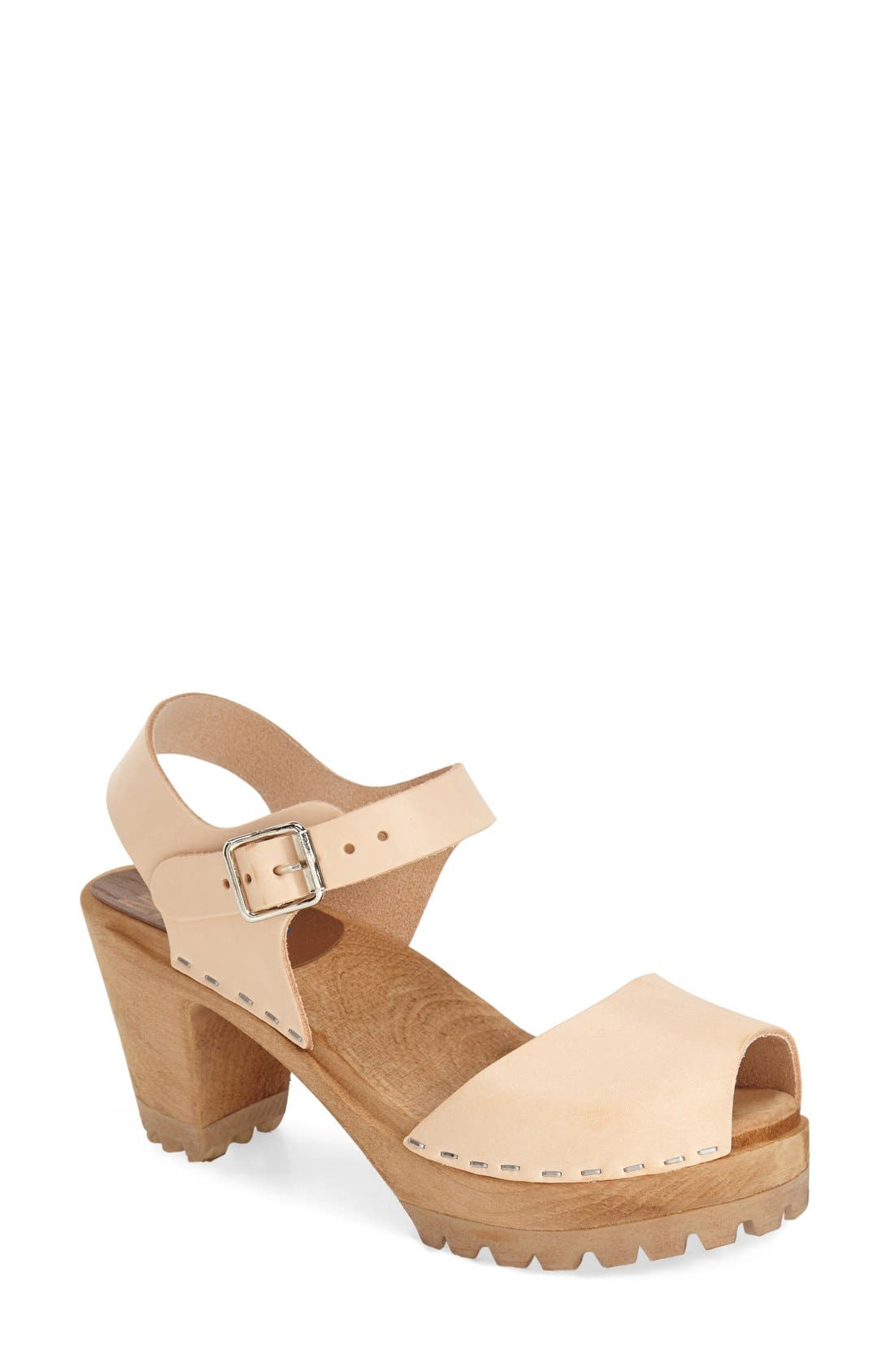 Alternate Image 1 Selected - MIA 'Greta' Clog Sandal (Women)