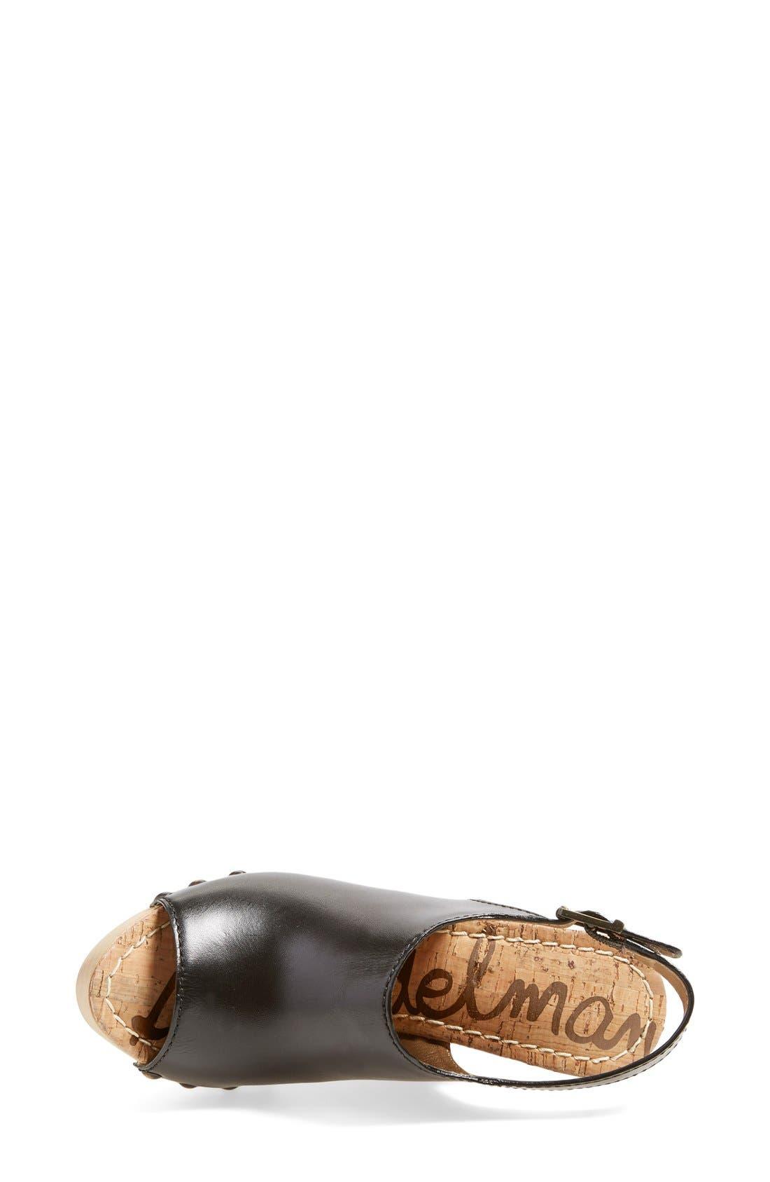 Alternate Image 3  - Sam Edelman'Camilla' Wedge Sandal (Women)