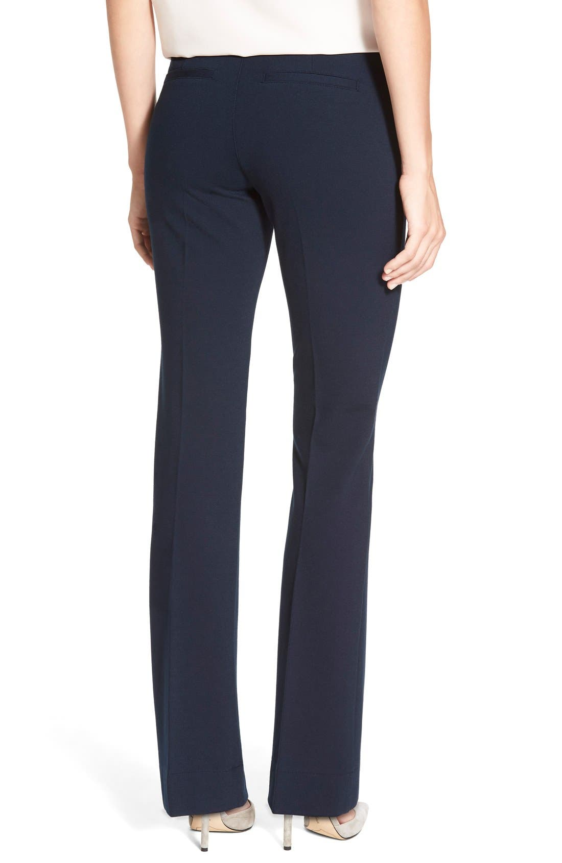 Alternate Image 2  - NYDJ Michelle Stretch Ponte Trousers (Regular & Petite)
