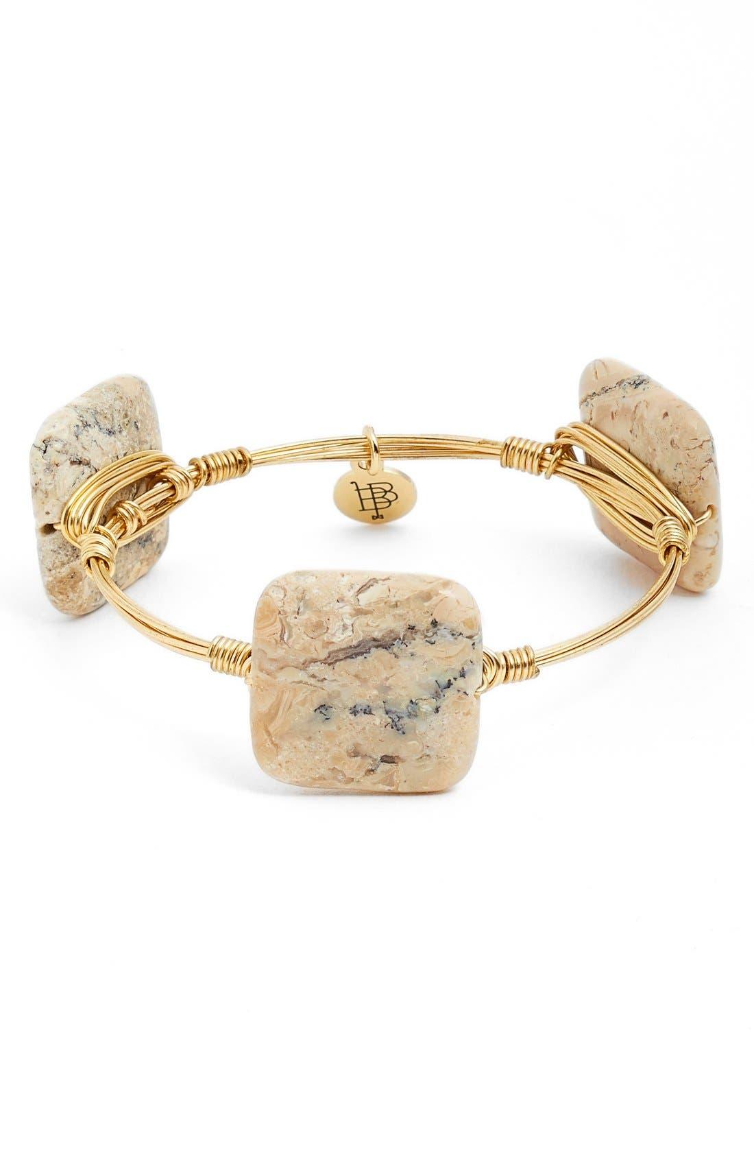 Alternate Image 1 Selected - Bourbon and Boweties SmallStone Bracelet