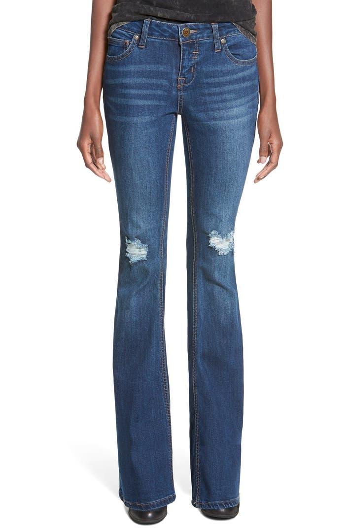 Amazon.com: celebrity pink flare jeans