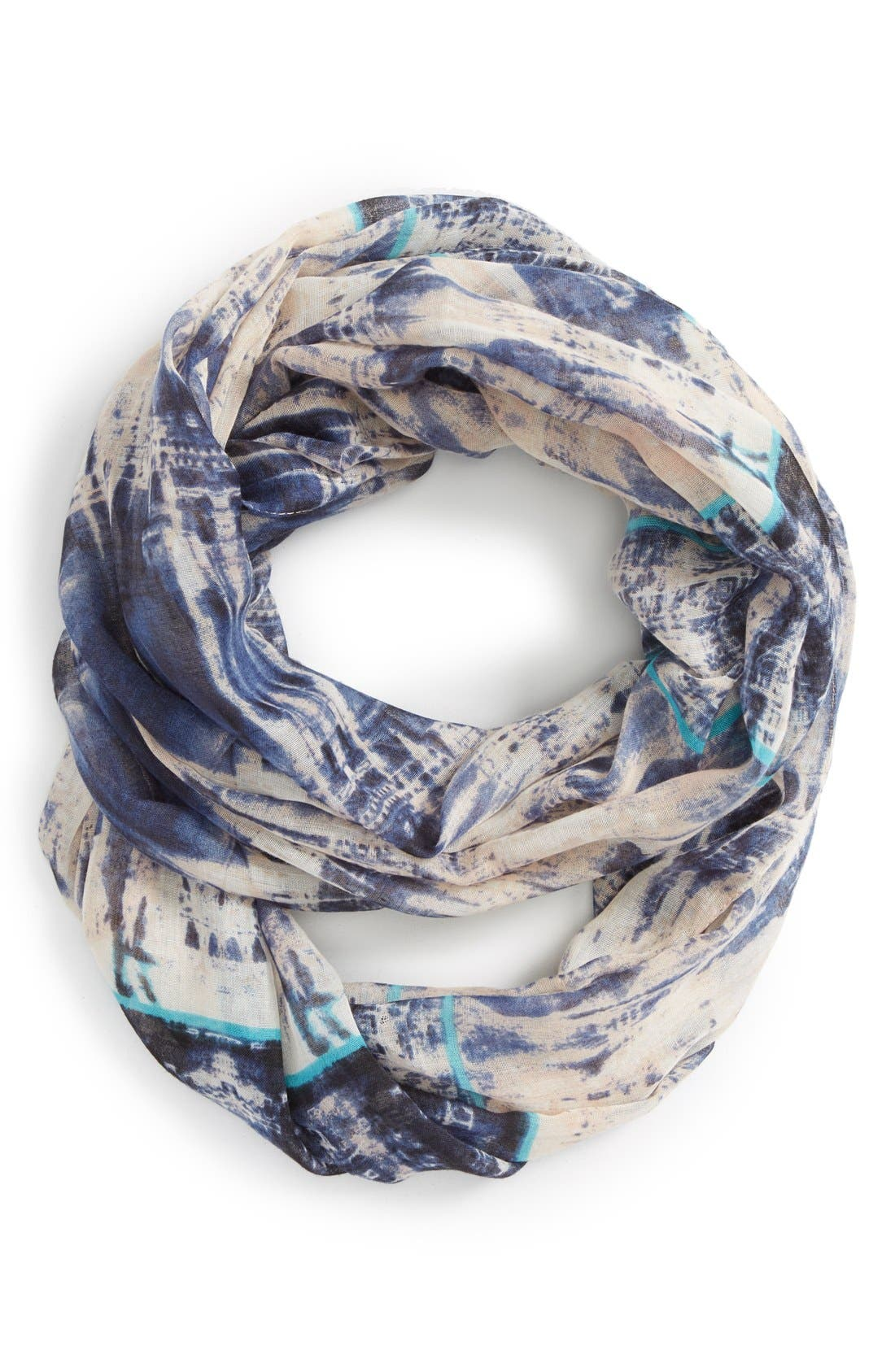 Alternate Image 1 Selected - BP. Abstract Print Infinity Scarf