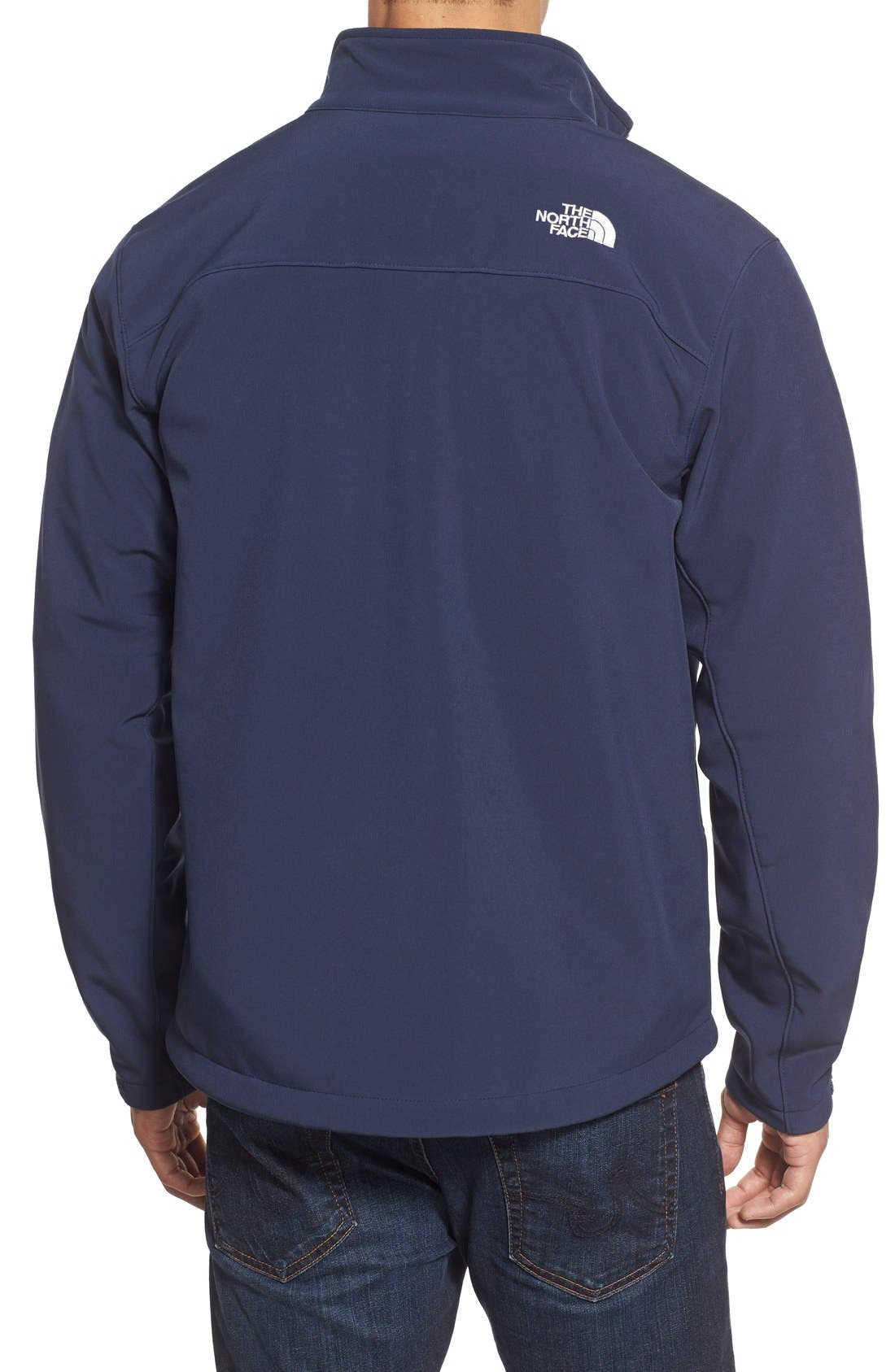 Alternate Image 2  - The North Face 'Apex Bionic' ClimateBlock™ Windproof & Water Resistant Softshell Jacket