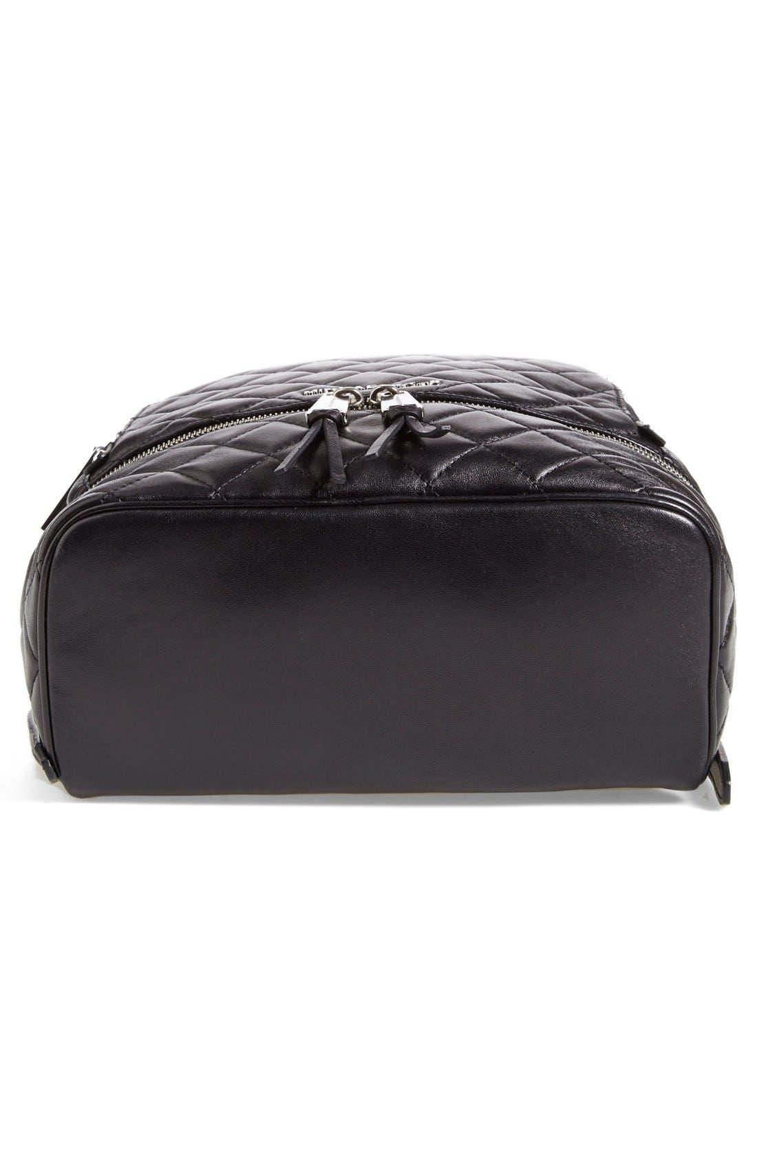 Alternate Image 6  - MICHAEL Michael Kors 'Medium Rhea Zip' Quilted Backpack (Nordstrom Exclusive)