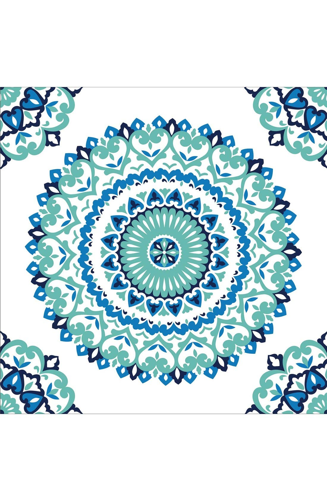 Alternate Image 1 Selected - Wallpops 'Jasmine Medallion' Reusable Peel & Stick Vinyl Wallpaper