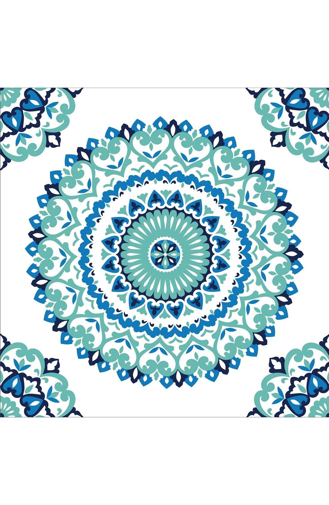 Main Image - Wallpops 'Jasmine Medallion' Reusable Peel & Stick Vinyl Wallpaper