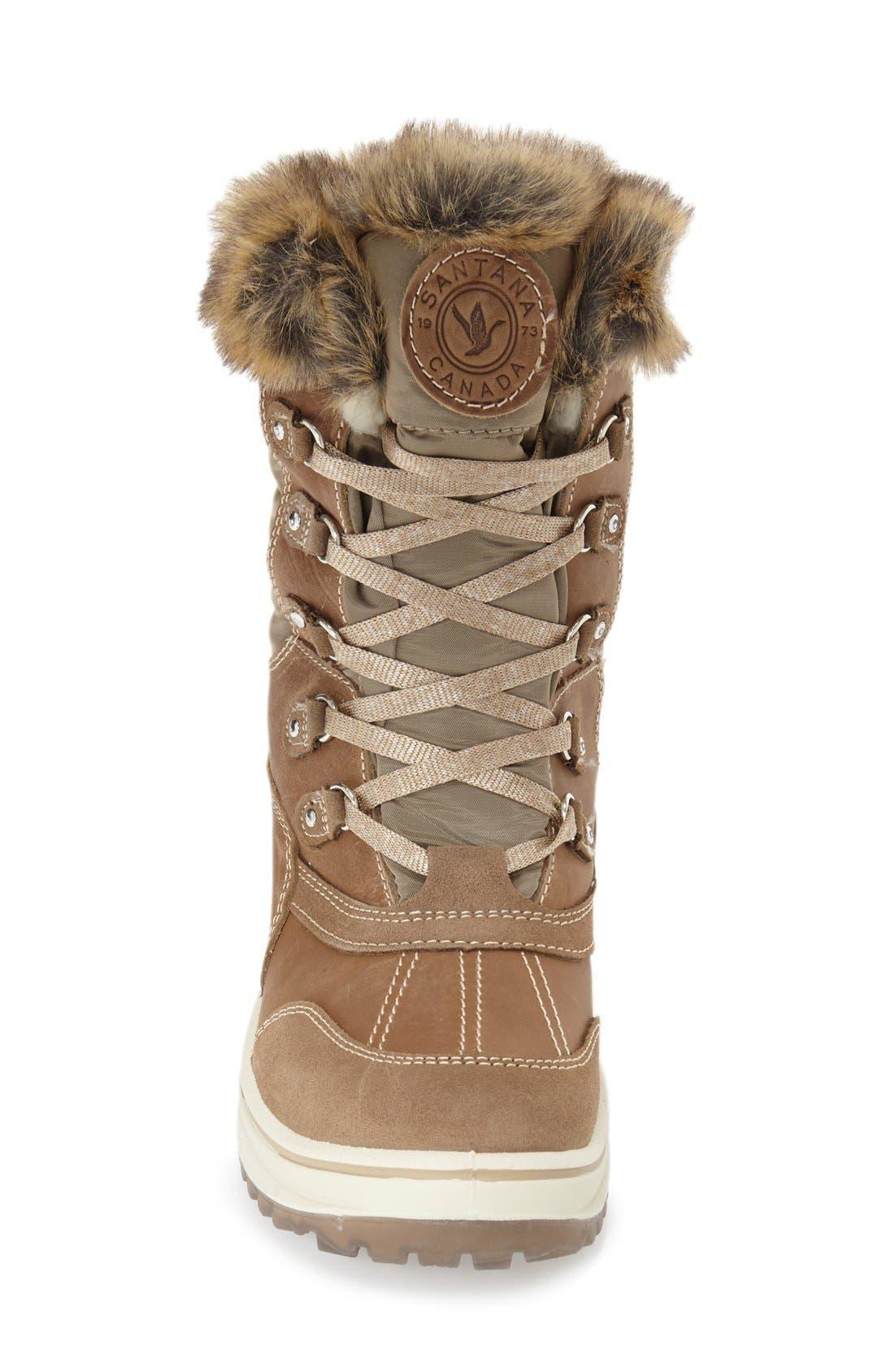 Alternate Image 3  - Santana Canada 'Myrah' Faux Fur Waterproof Boot (Women)