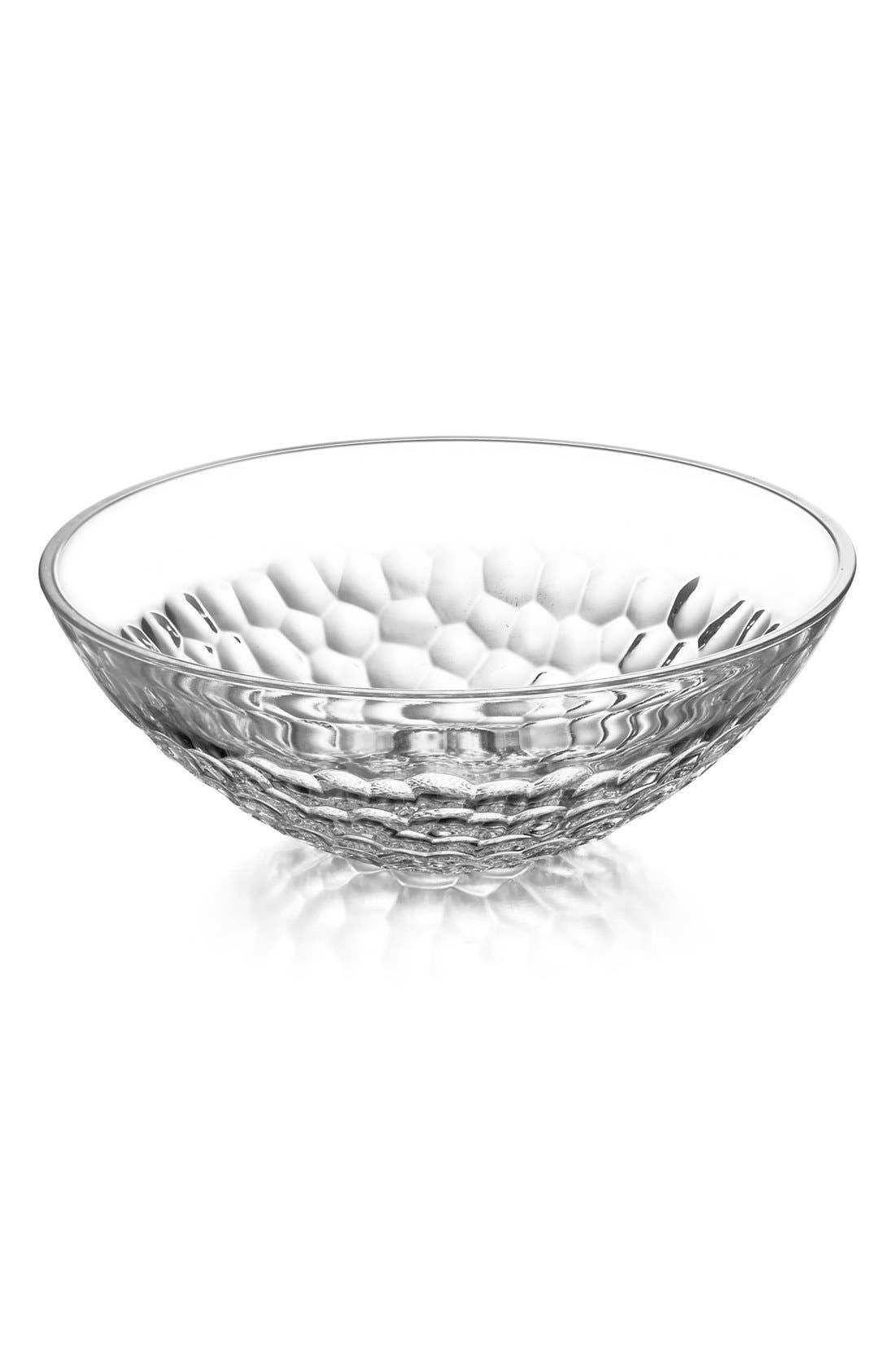 Orrefors 'Pearl' Lead Crystal Serving Bowl