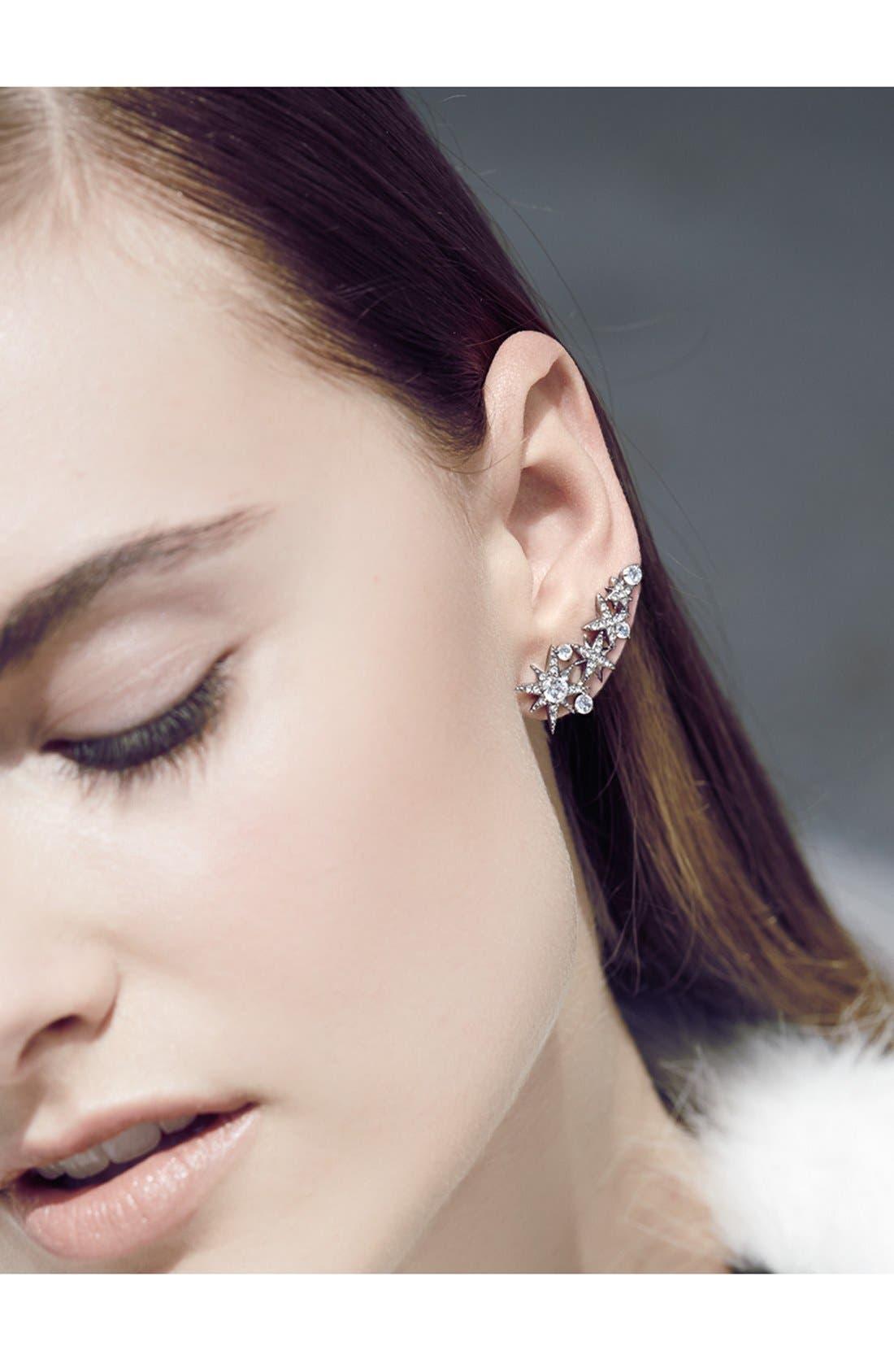 Alternate Image 2  - Nadri'Starry Night' Linear Stud Earrings