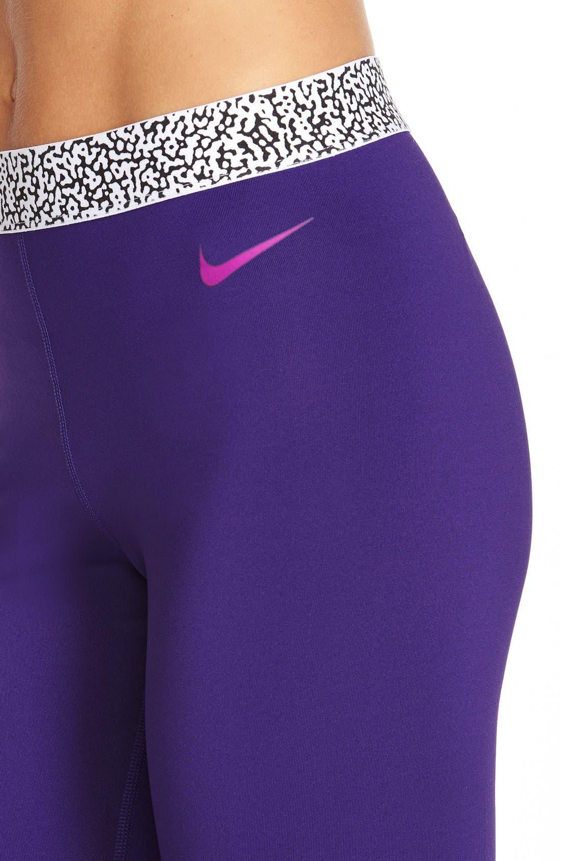 Alternate Image 4  - Nike 'Pro Hyperwarm' Mezzo Compression Tights