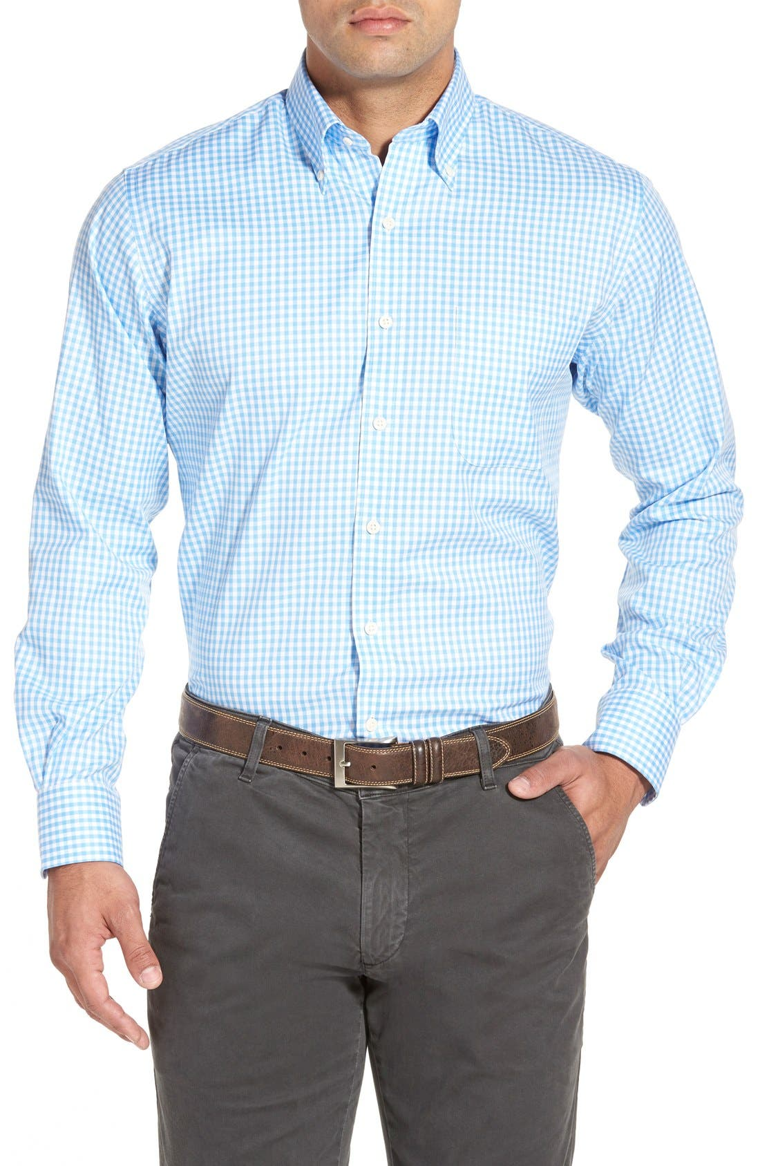PETER MILLAR 'Nanoluxe' Regular Fit Wrinkle Resistant Twill