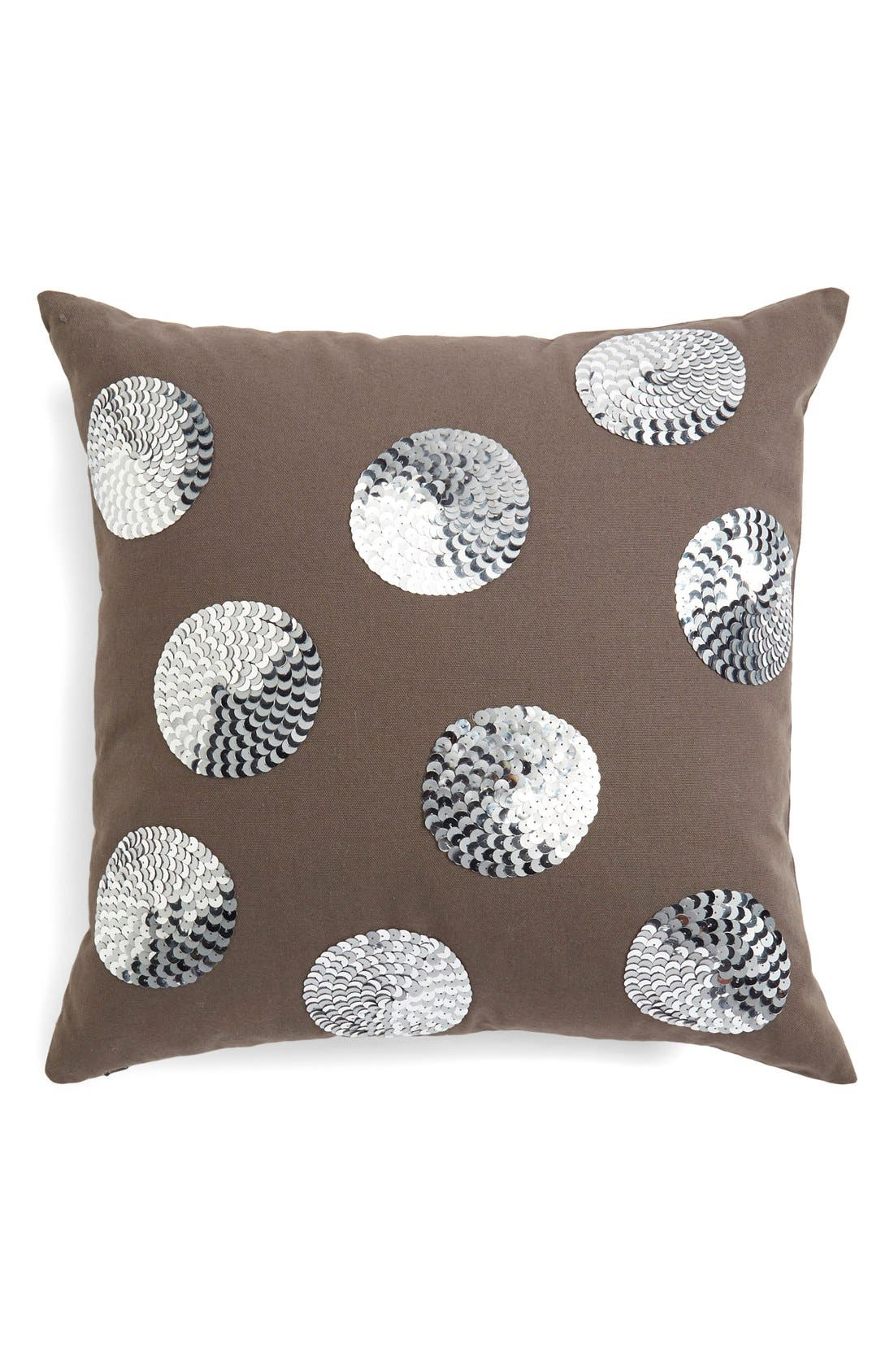 Alternate Image 1 Selected - Nordstrom at Home 'Dottie Paillettes' Accent Pillow