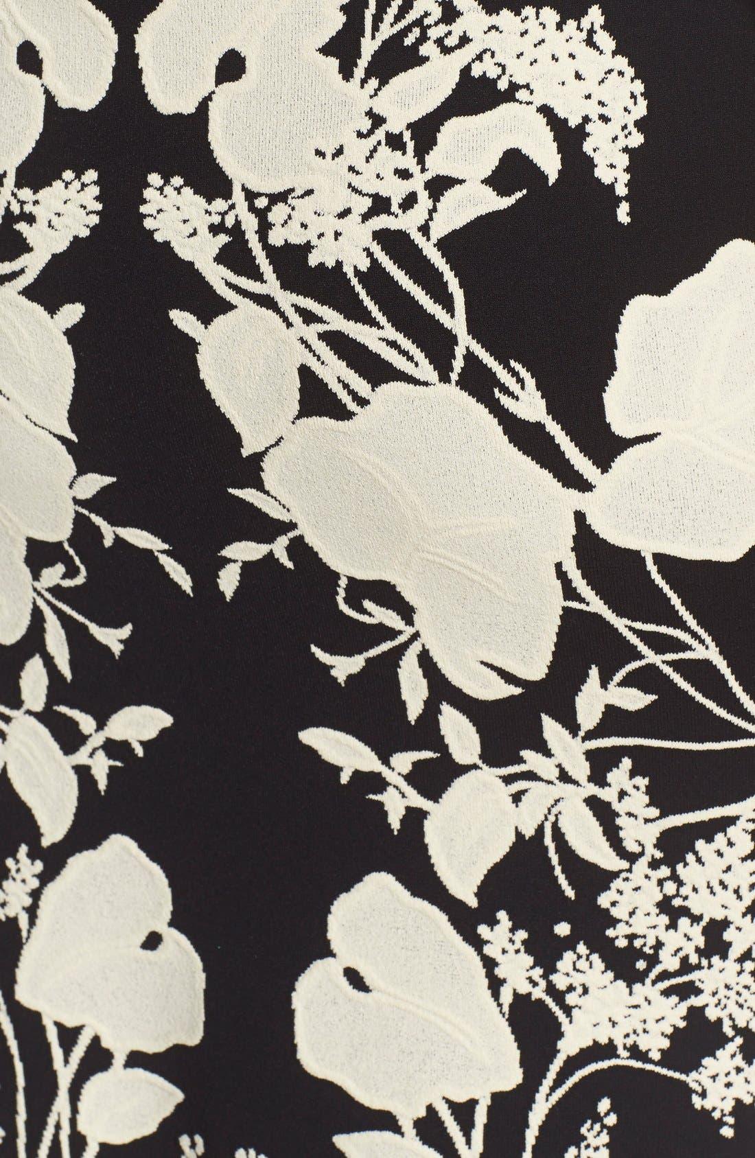Alternate Image 3  - Alexander McQueen 'Belle Epoque' Floral Pattern Jacquard Pencil Skirt