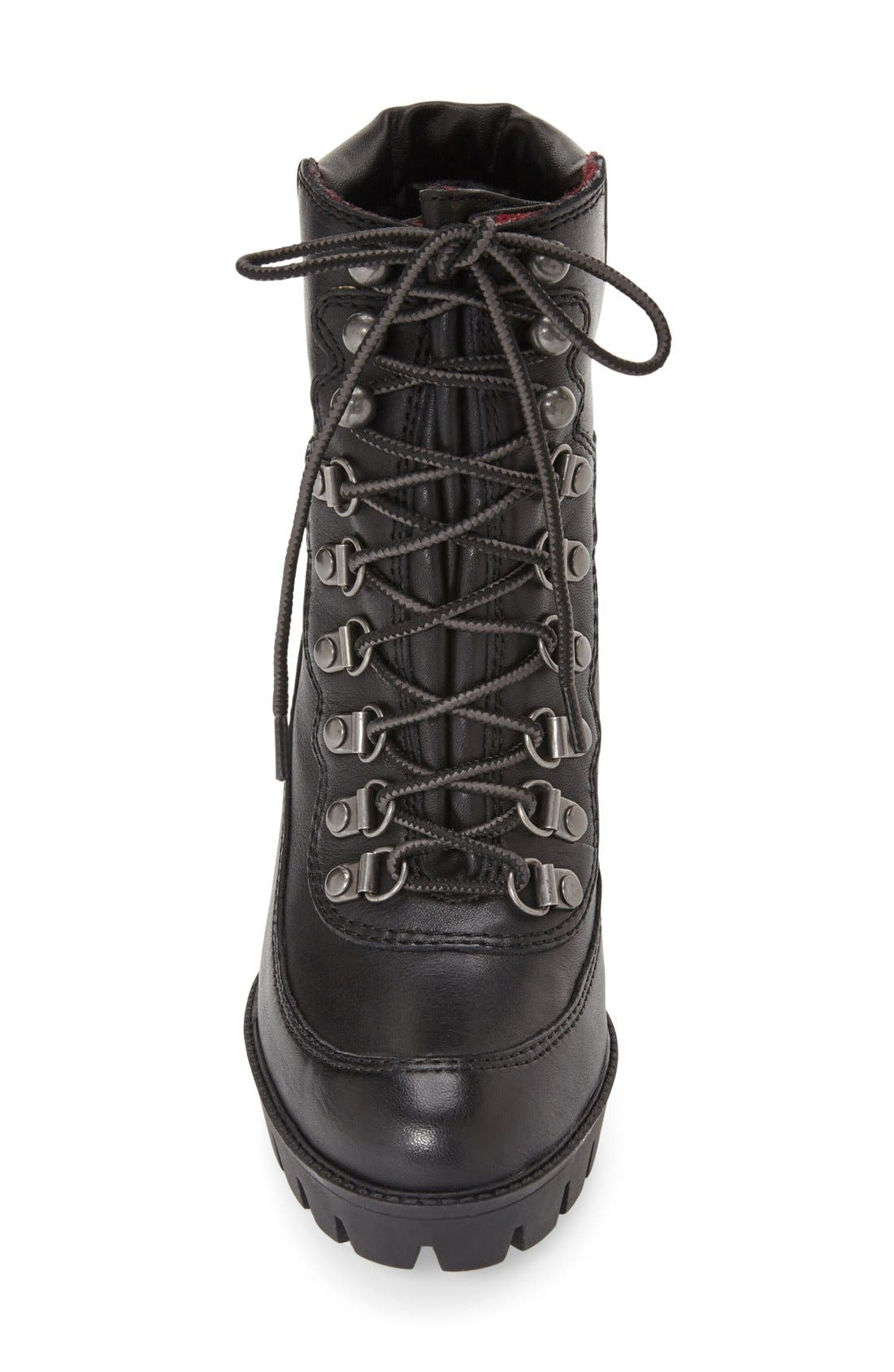 Alternate Image 3  - Nine West 'Abrial' Lace-Up Bootie (Women)