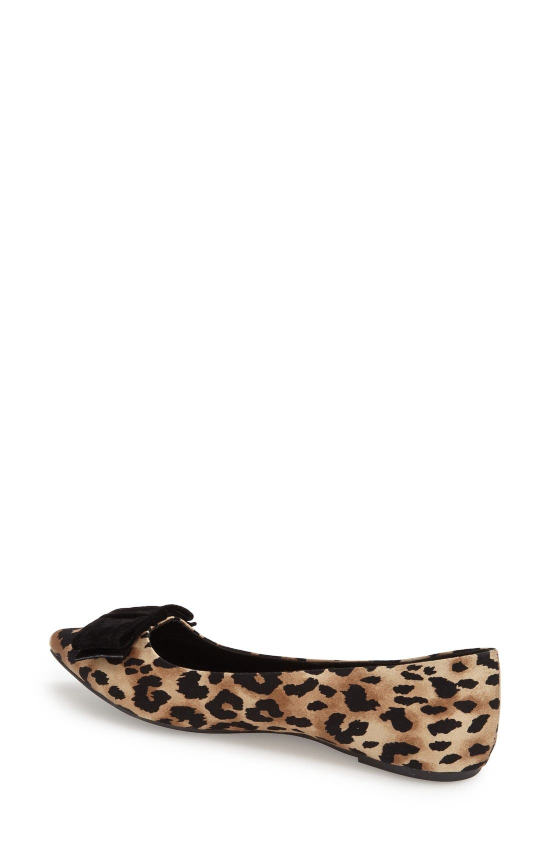Alternate Image 2  - Topshop 'Villa' Pointy Toe Flat (Women)