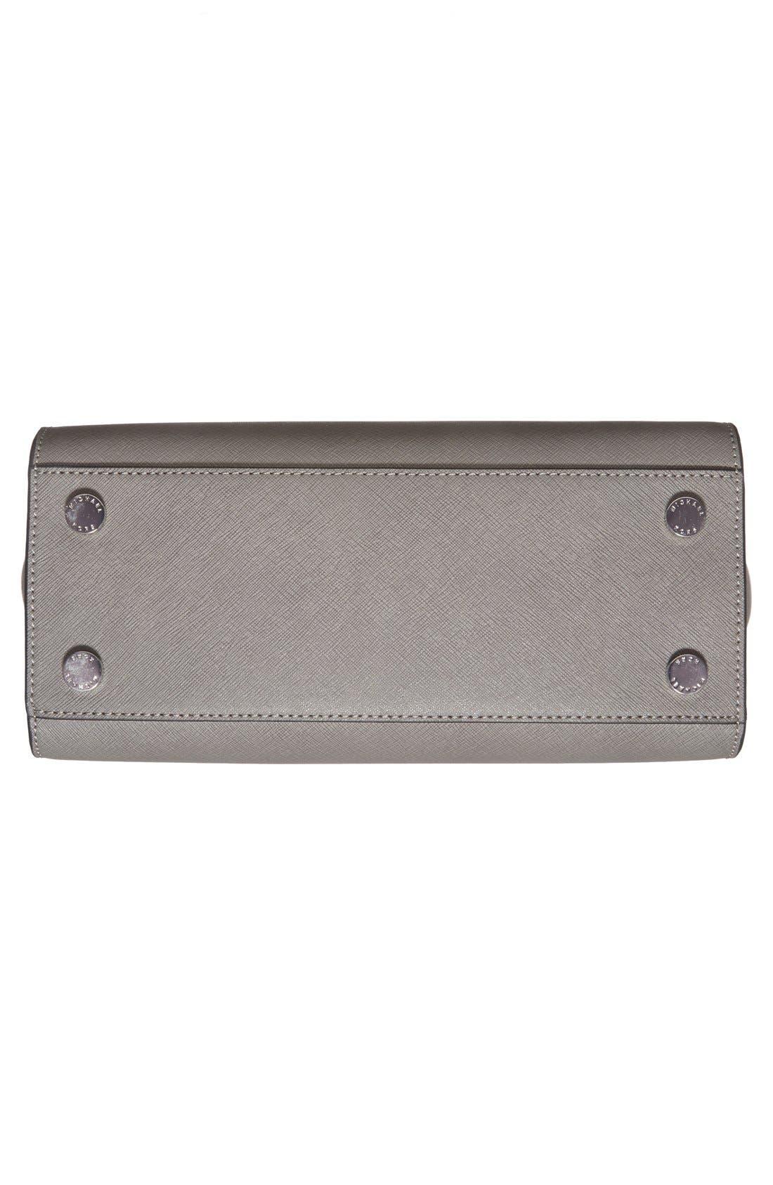 Alternate Image 6  - MICHAEL Michael Kors 'Selma - Medium' Saffiano Leather Crossbody Bag