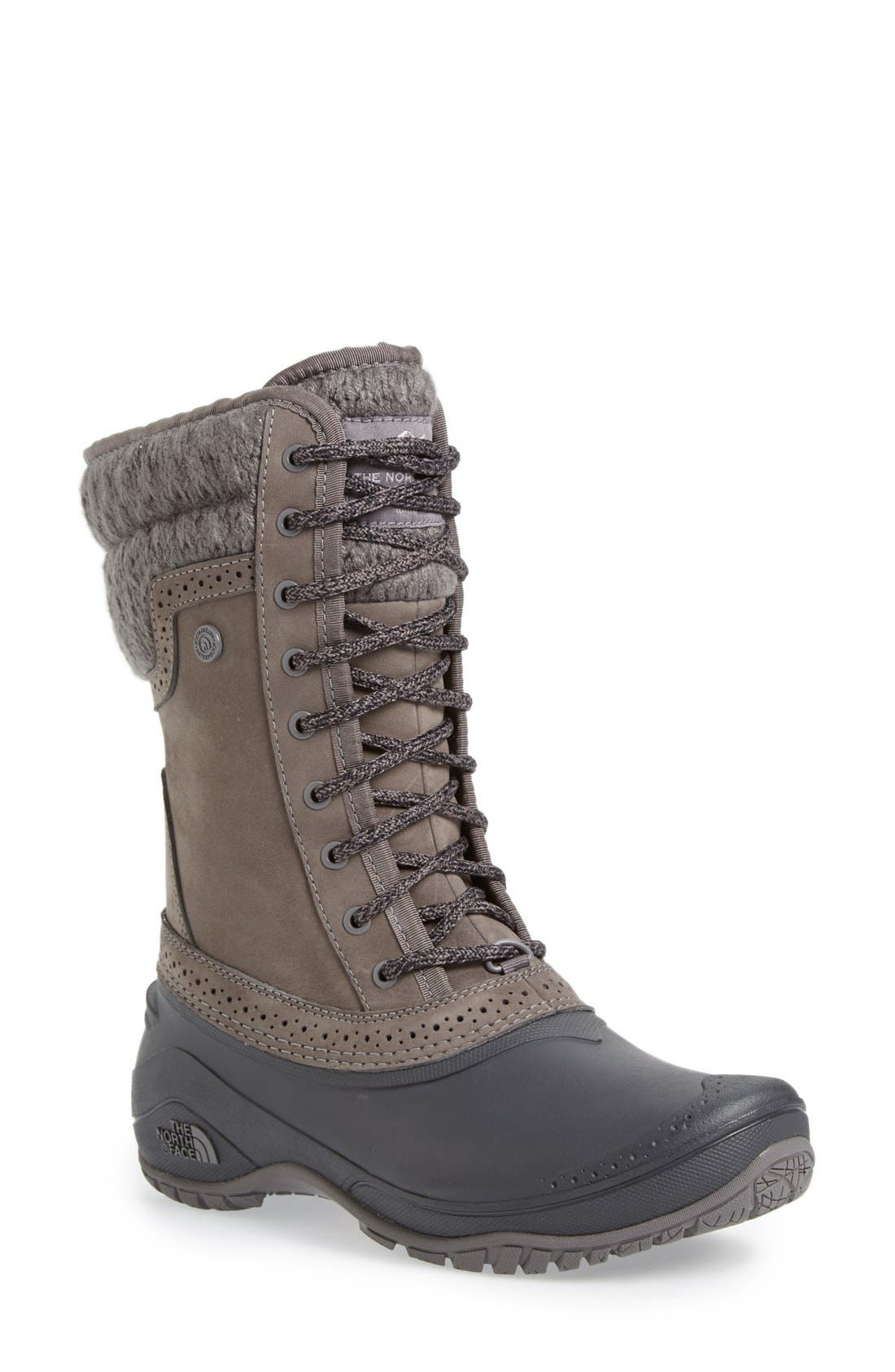 Alternate Image 1 Selected - The North Face Shellista Waterproof Insulated Snow Boot (Women)