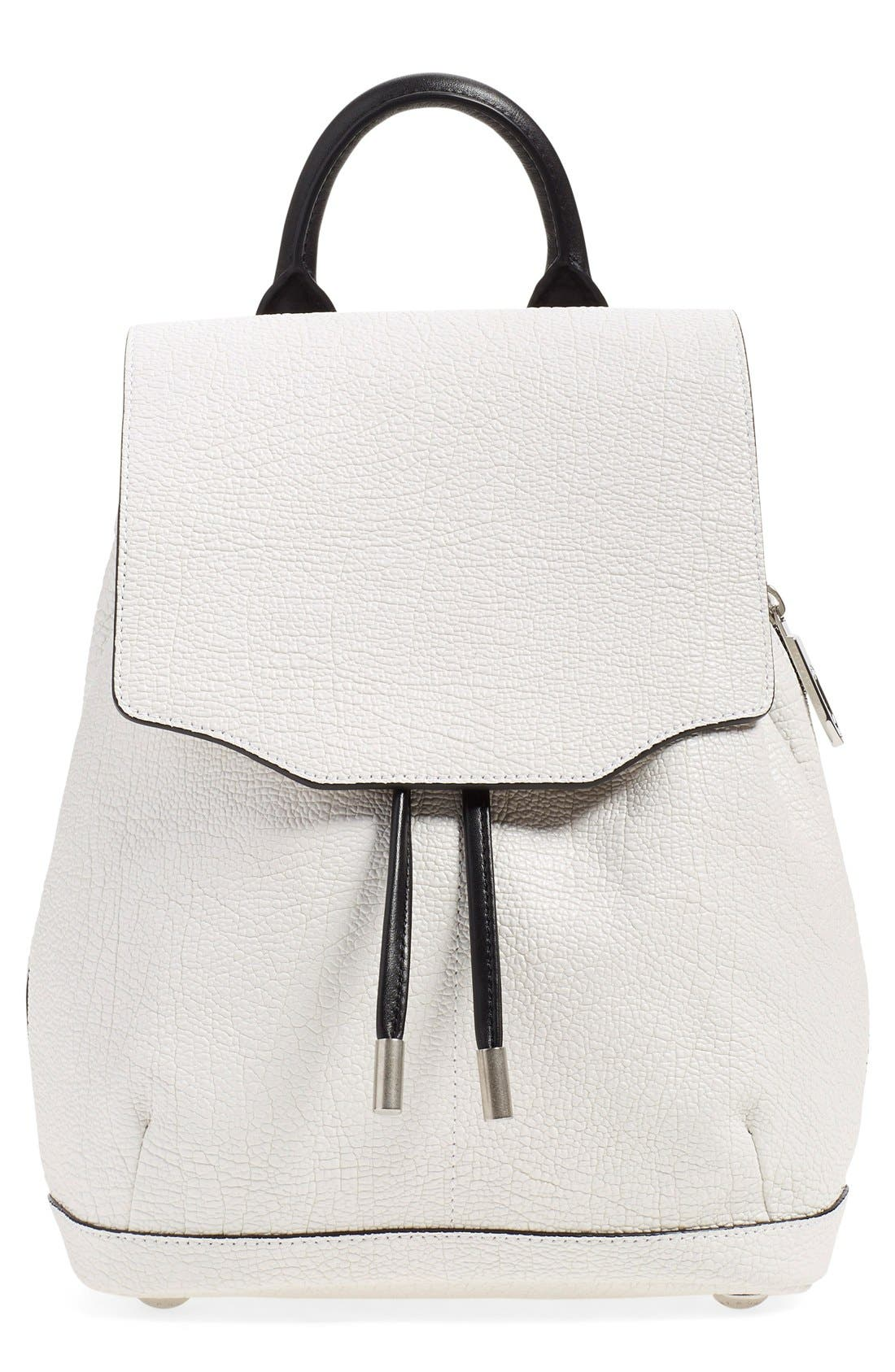 Alternate Image 1 Selected - rag & bone 'Mini Pilot' Leather Backpack