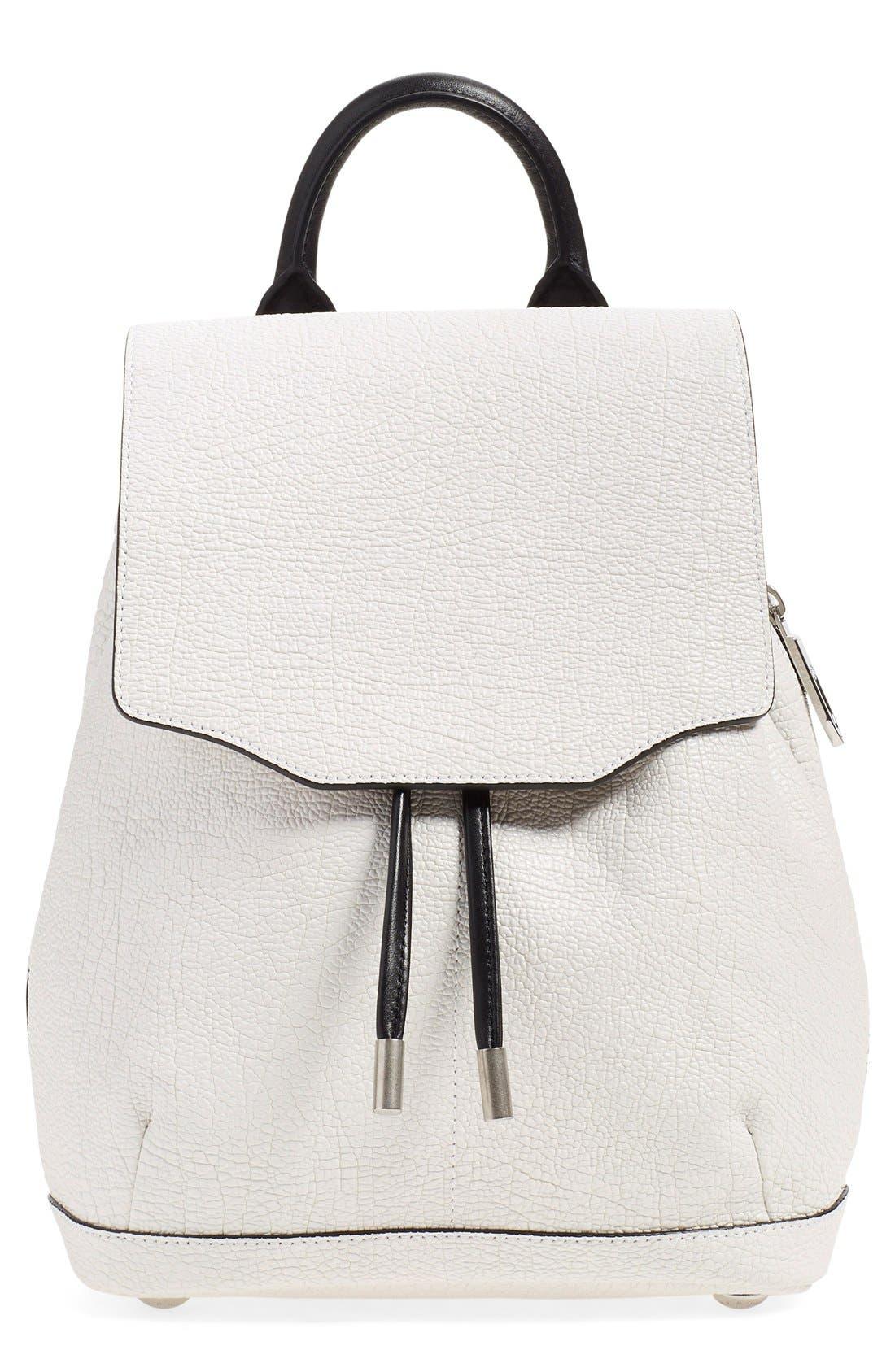 Main Image - rag & bone 'Mini Pilot' Leather Backpack