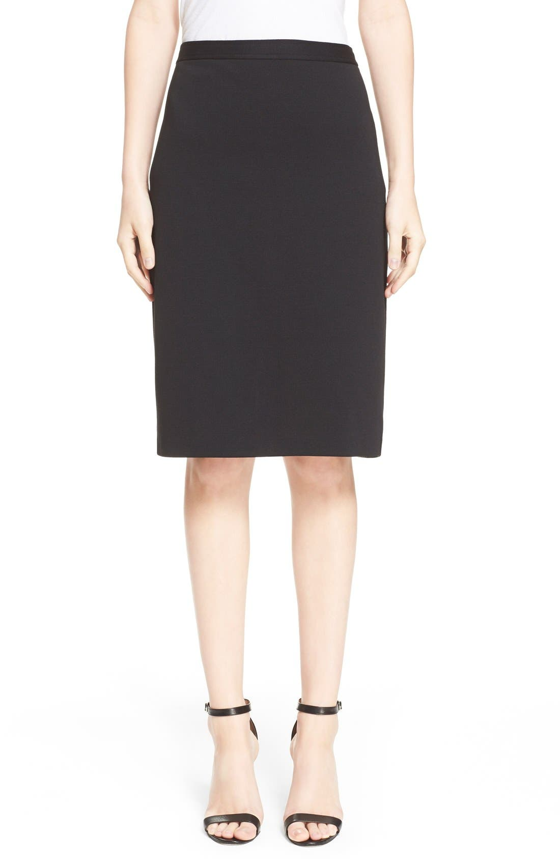Main Image - St. John Collection Milano Knit Pencil Skirt