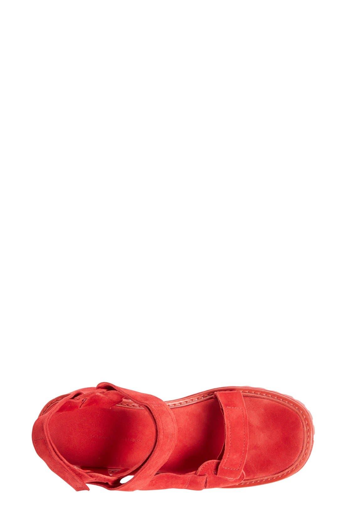 Alternate Image 3  - Marques'Almeida Chunky Heel Sandal (Women)