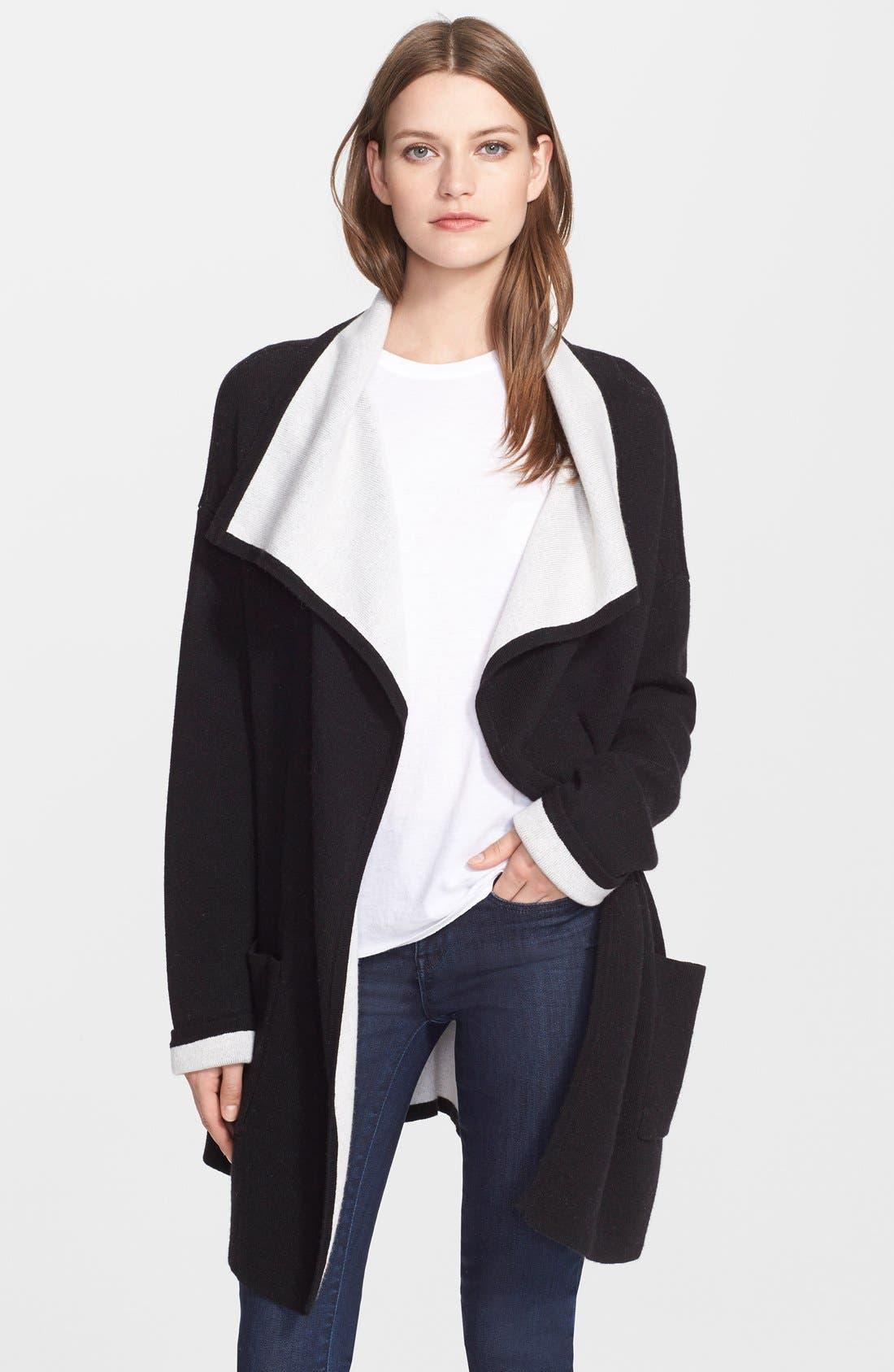 Alternate Image 1 Selected - autumn cashmere Double Face Knit Coat