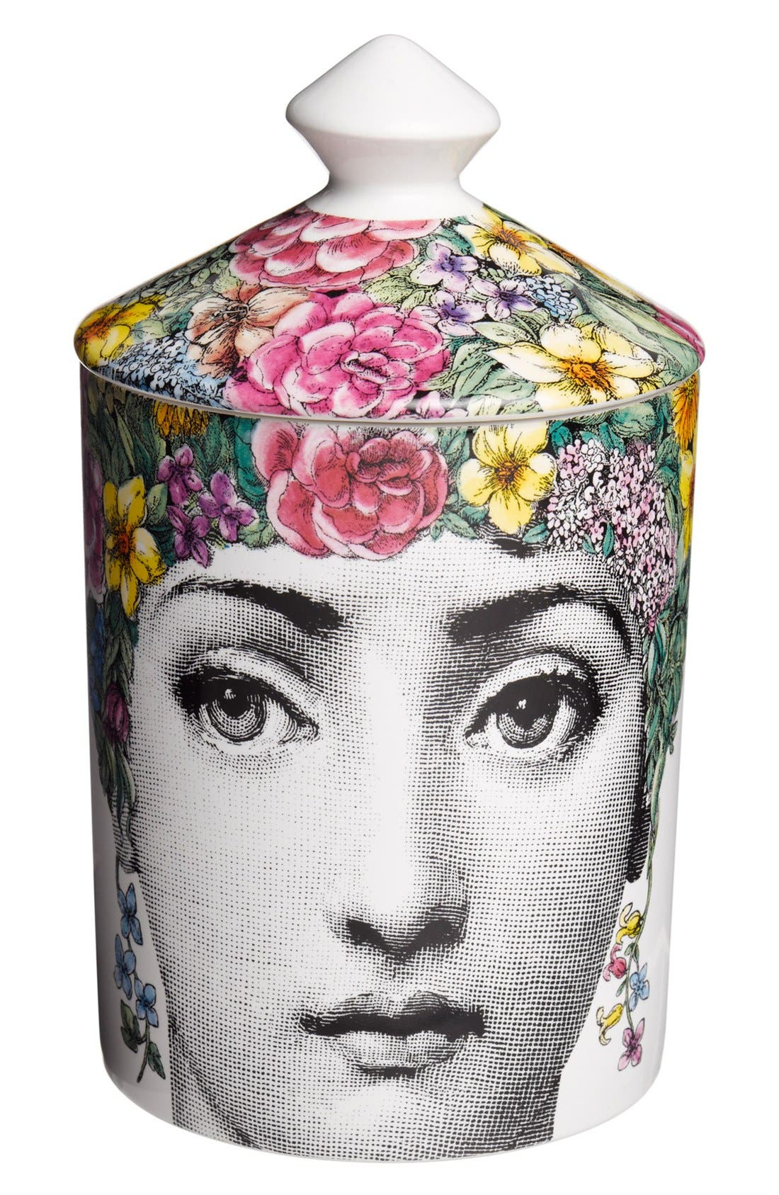 Fornasetti 'Flora' Lidded Candle