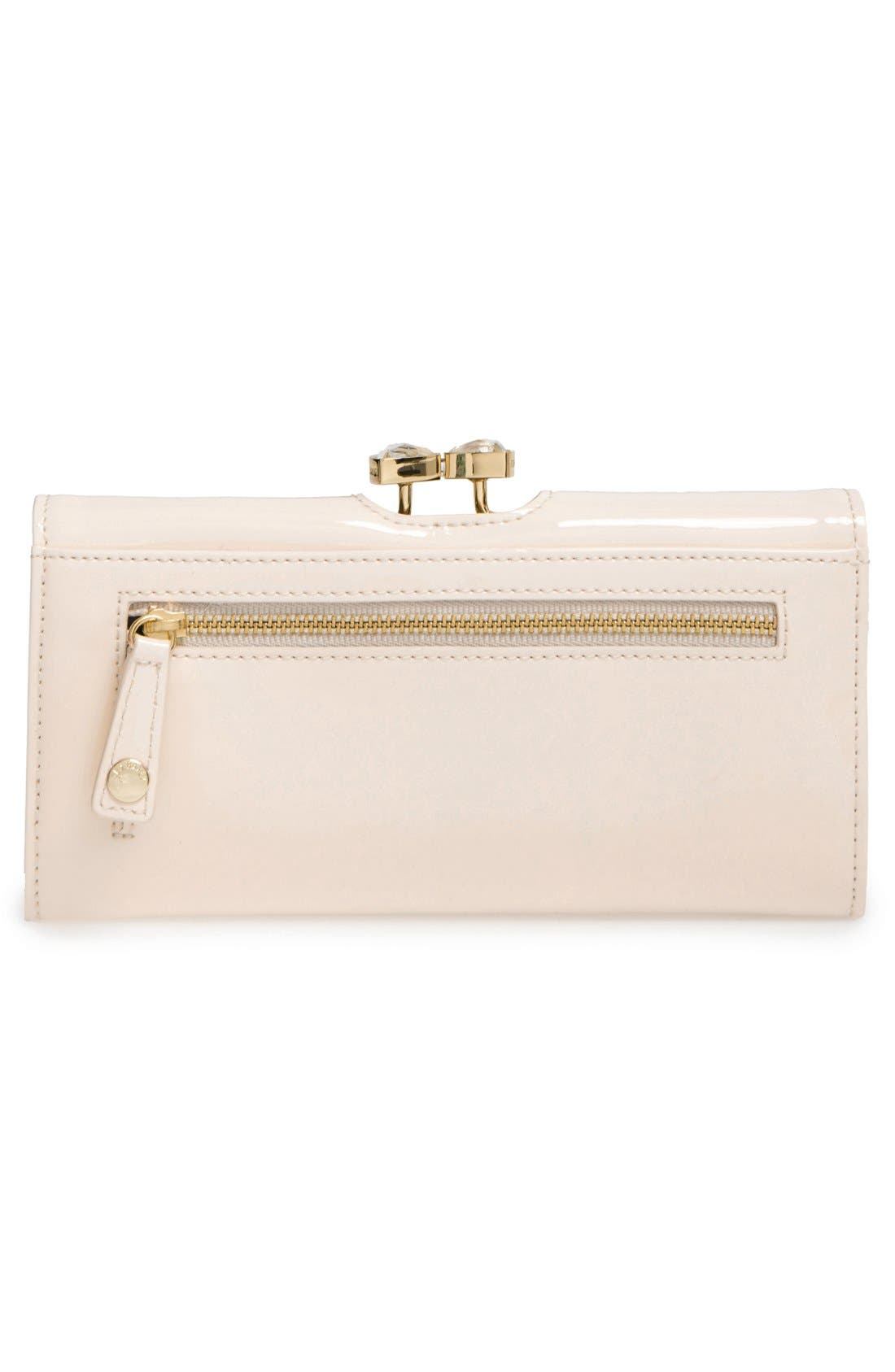 Alternate Image 4  - Ted Baker London Leather Matinee Wallet