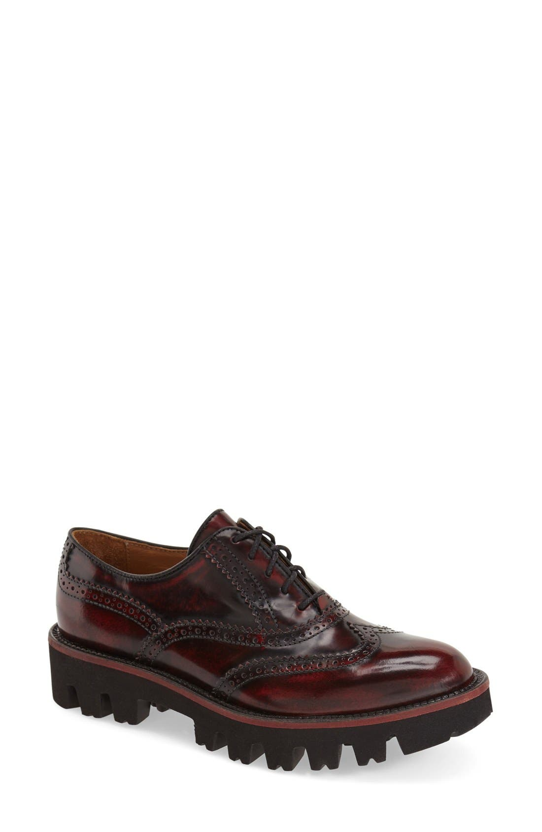 Alternate Image 1 Selected - Rokail Wingtip Oxford (Women)