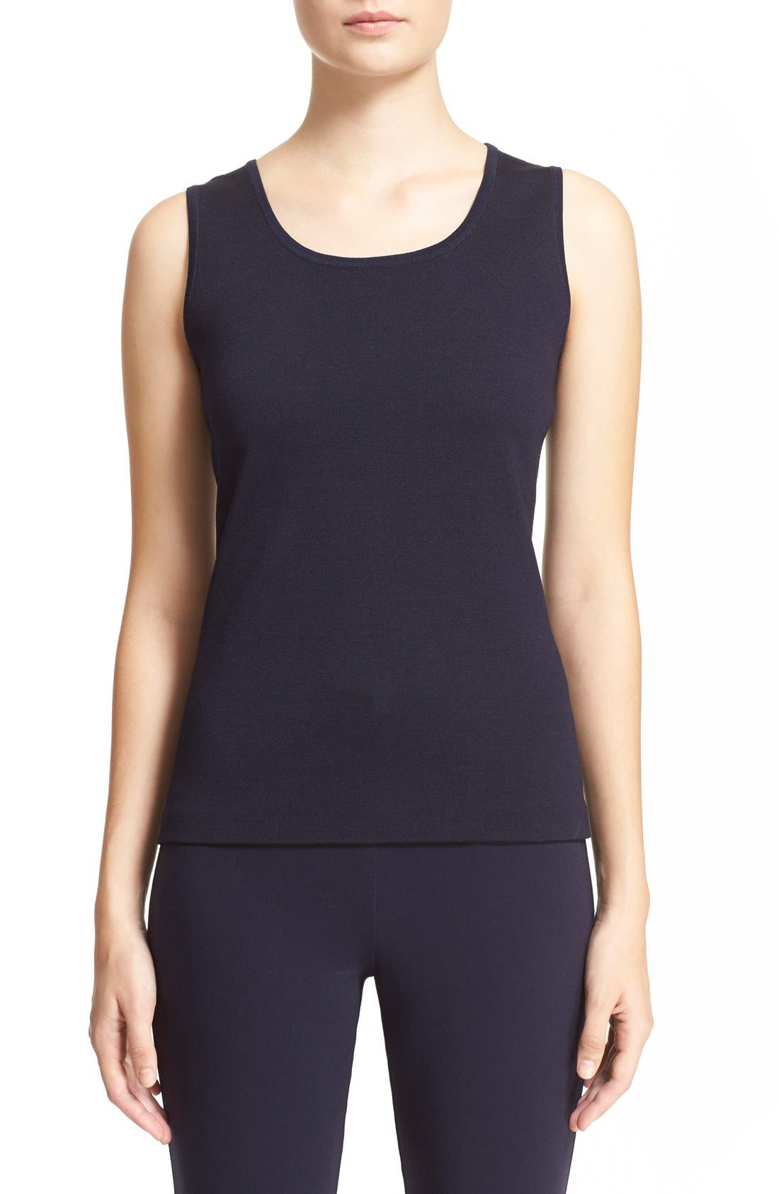 Main Image - St. John Collection Milano Knit Tank