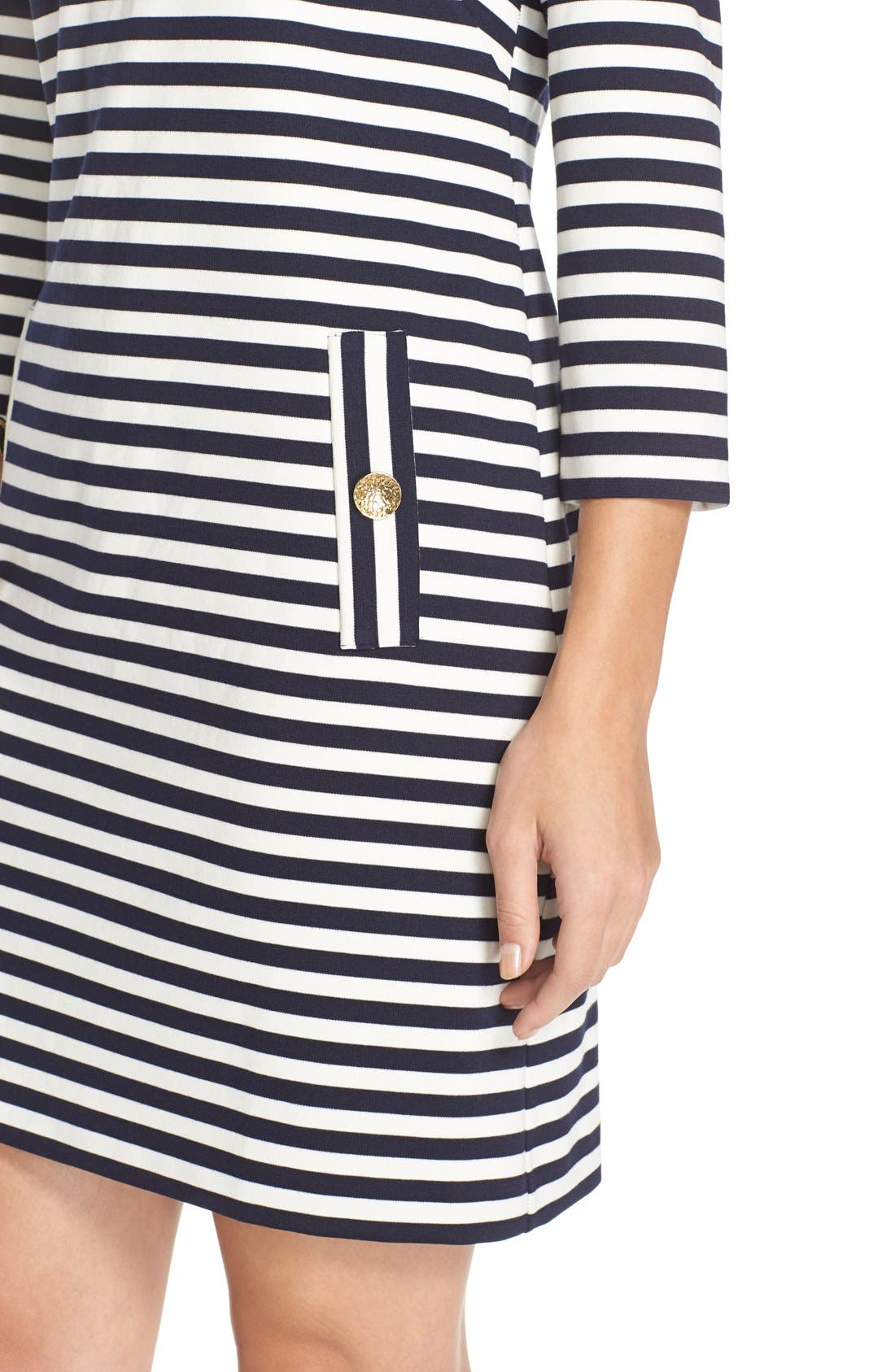 Alternate Image 5  - Eliza J Stripe Shift Dress