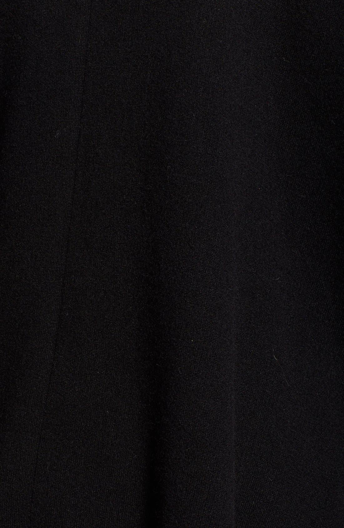Alternate Image 5  - Sofia Cashmere Genuine Fox Fur Collar Cashmere Cape