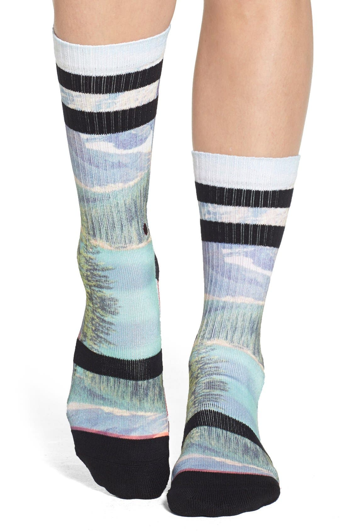 Alternate Image 1 Selected - Stance 'Cowboy' Print Crew Socks