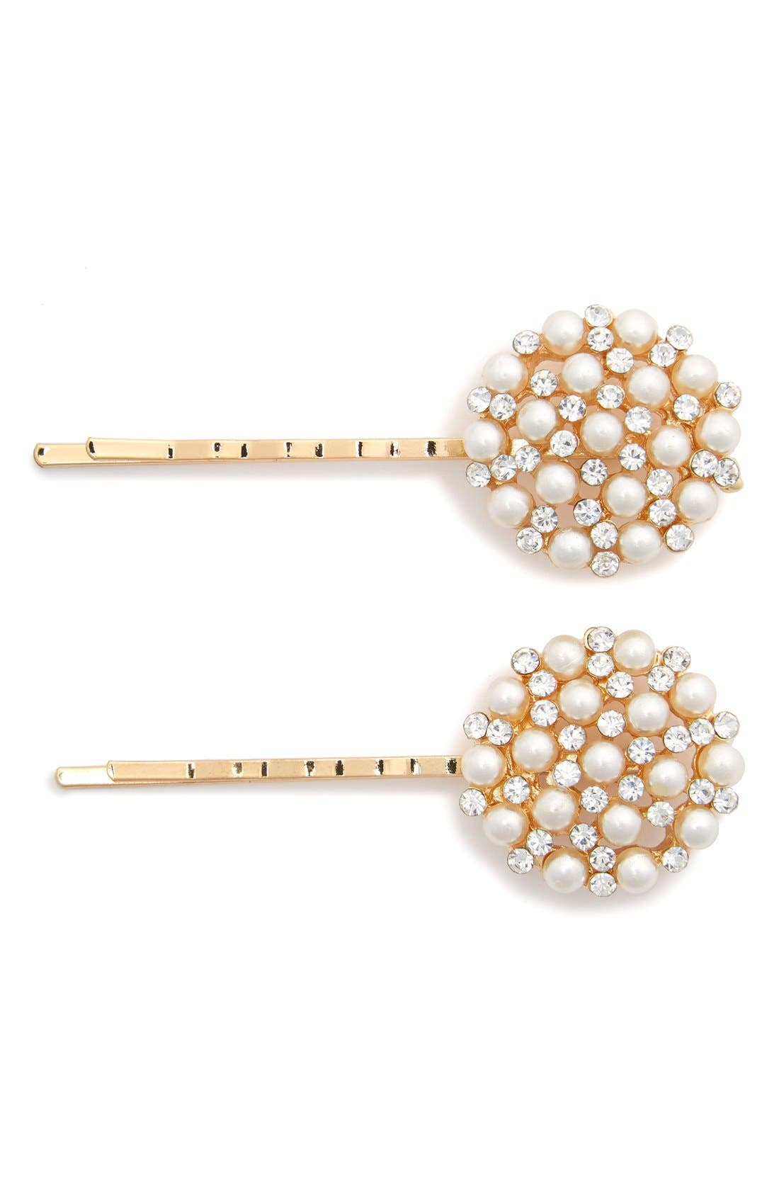 Alternate Image 1 Selected - Tasha 'Cute as a Button' Bobby Pins (2-Pack)