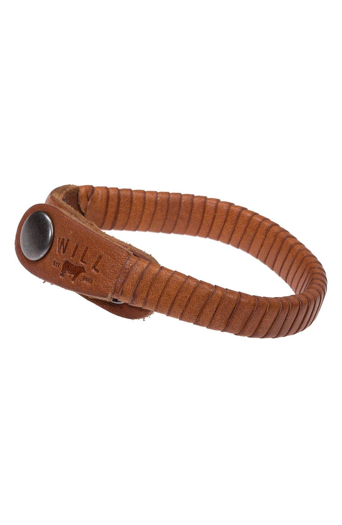 Alternate Image 1 Selected - Will Leather Goods 'Peddler' Bracelet