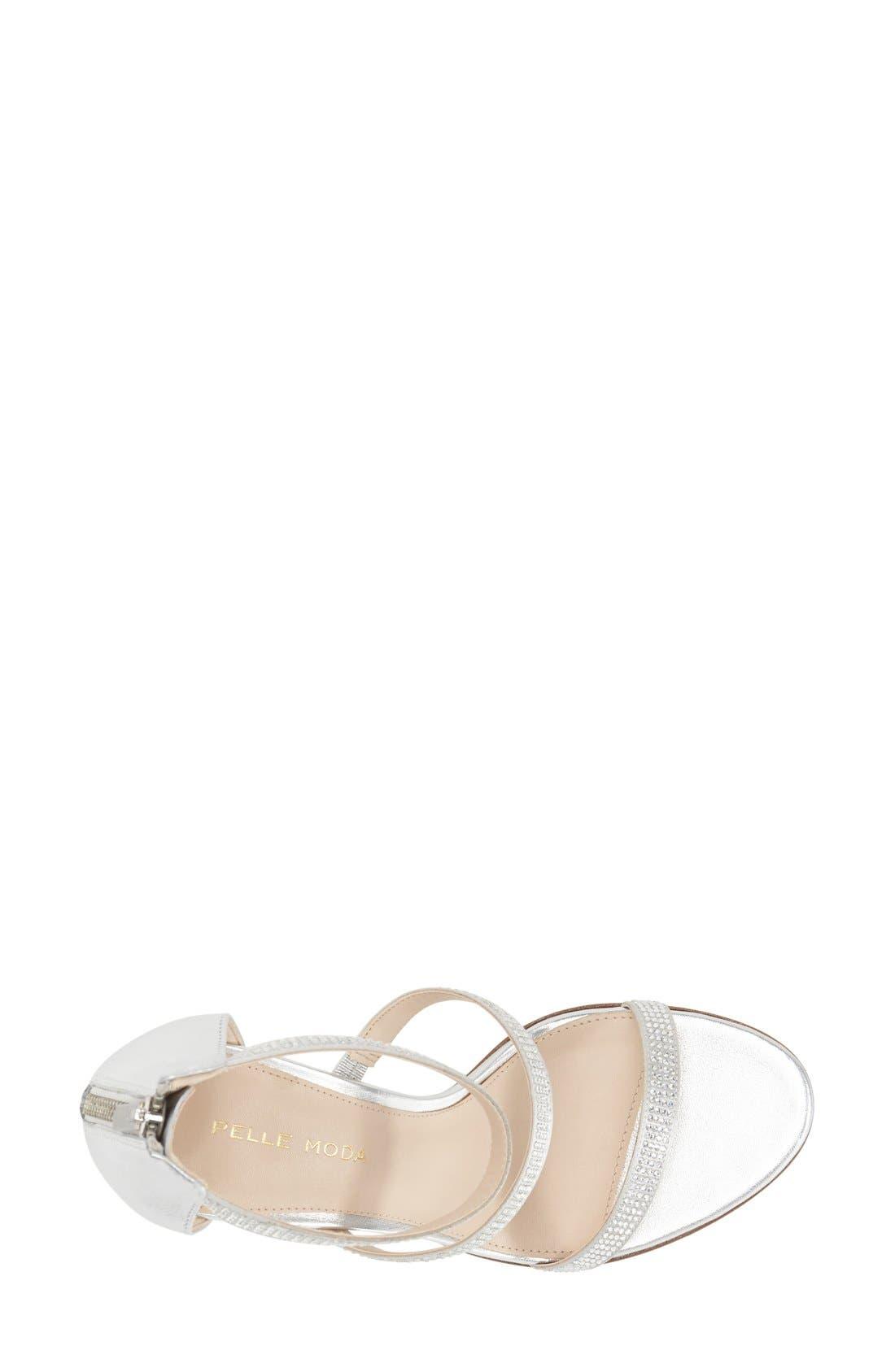 Alternate Image 3  - Pelle Moda 'Dalia' Three Strap Sandal (Women)