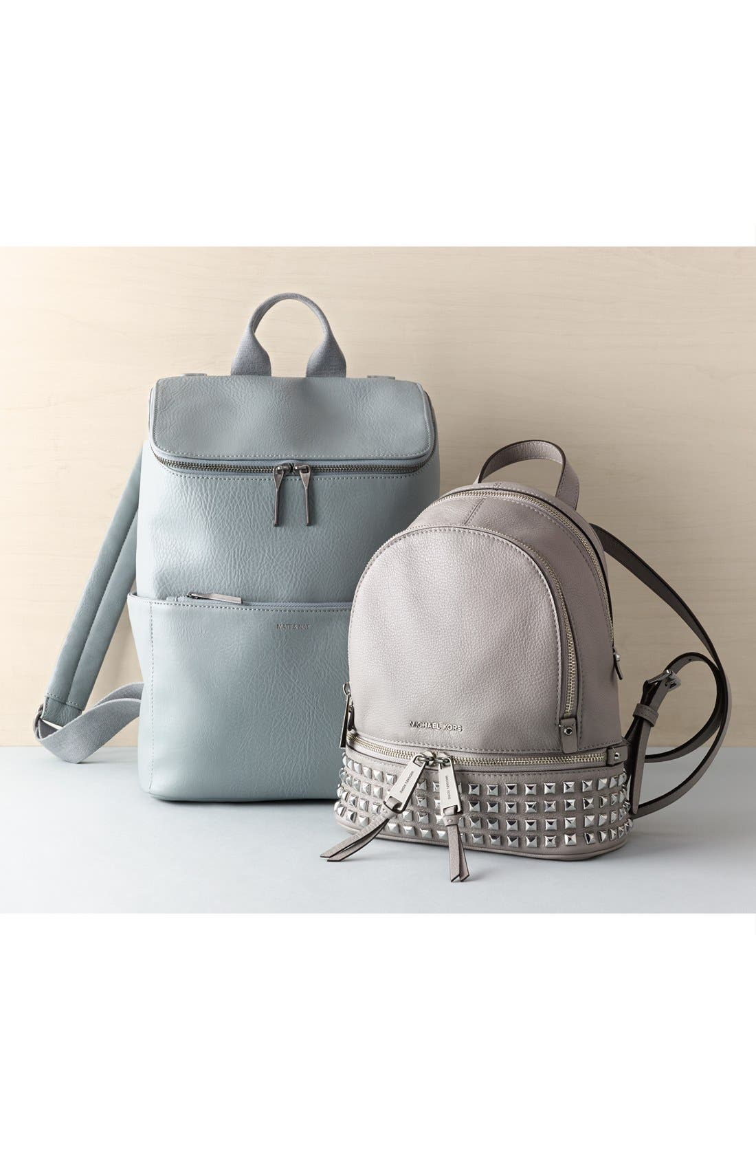 Alternate Image 9  - MICHAEL Michael Kors 'Small Rhea Zip' Studded Backpack