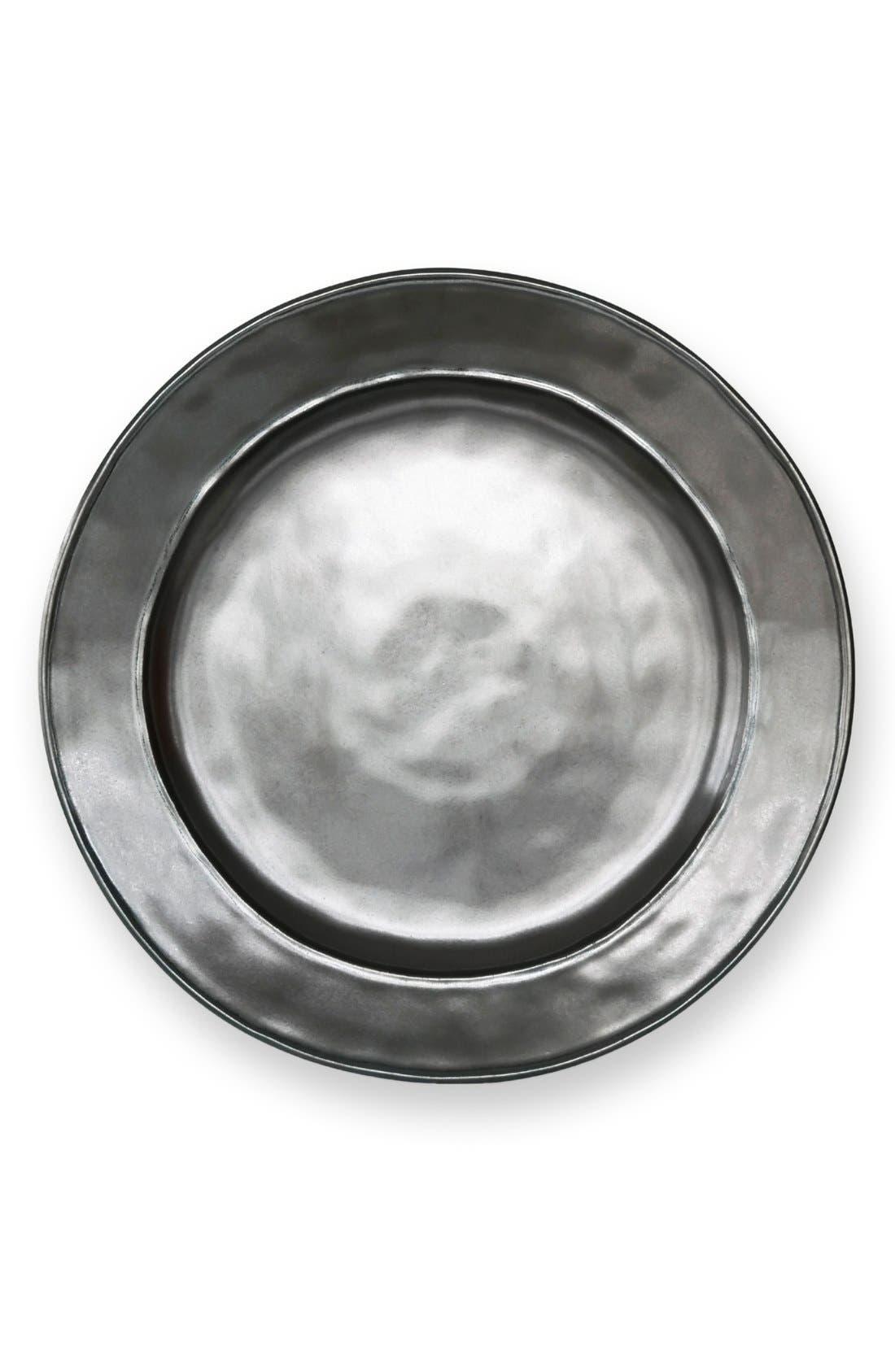 Alternate Image 1 Selected - Juliska 'Pewter' Stoneware Dinner Plate