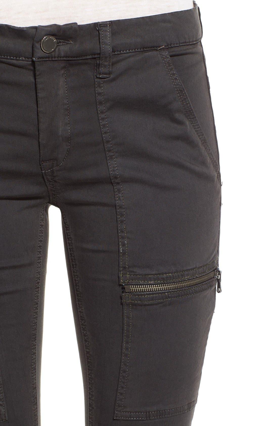 Alternate Image 4  - BLANKNYC 'No New Friends' Skinny Utility Pants