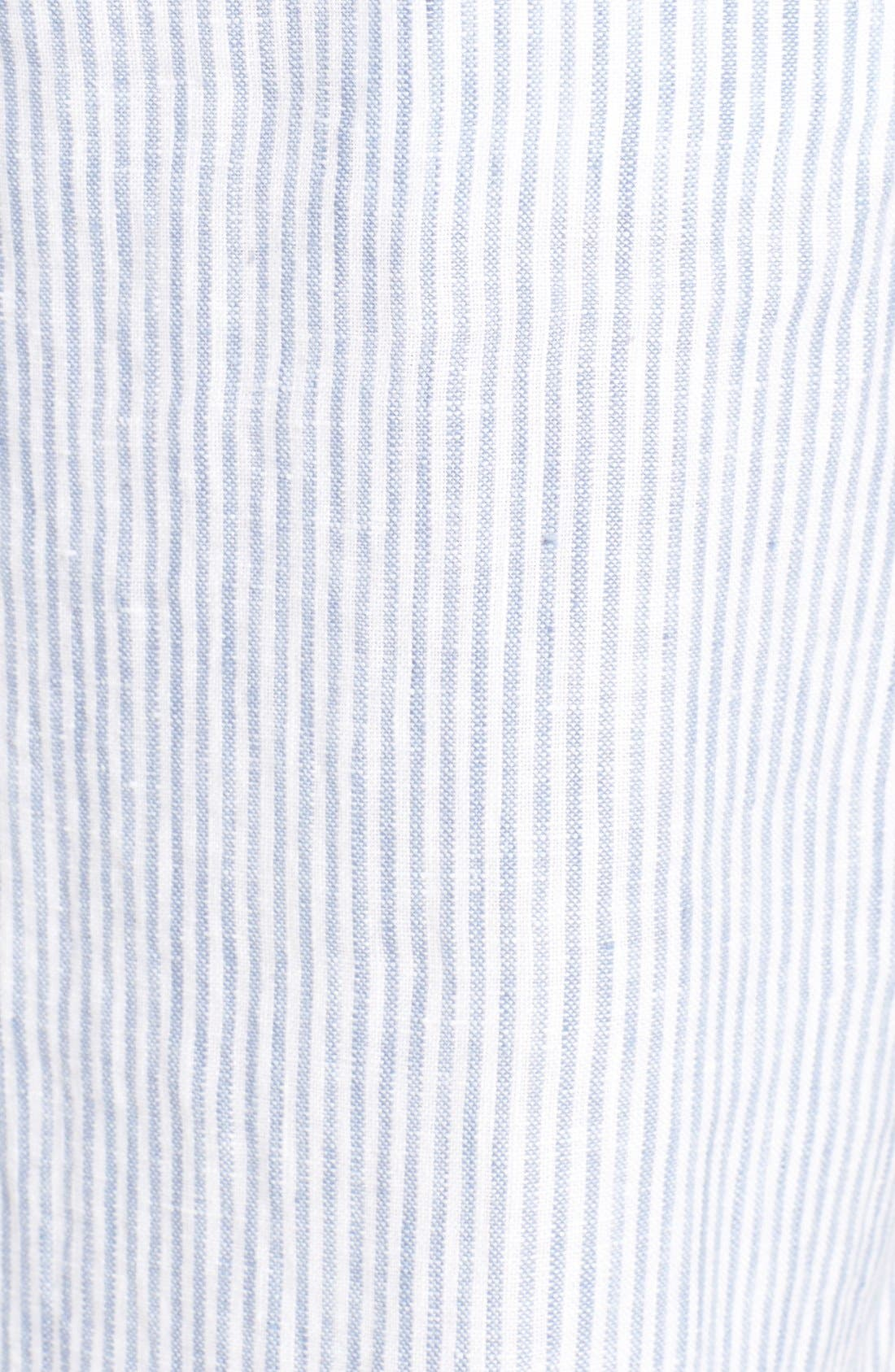 Alternate Image 5  - Caslon® Linen Sailor Pants (Regular & Petite)