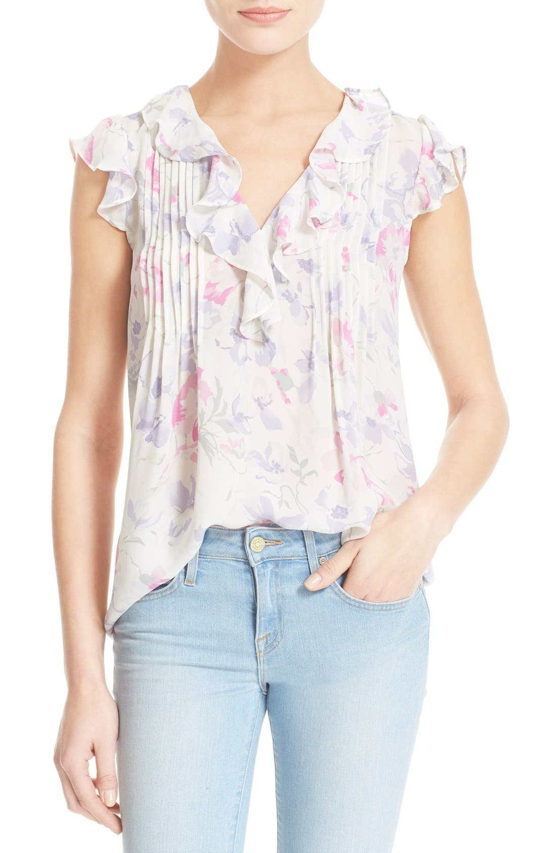 Alternate Image 1 Selected - Joie 'Olvera' Floral Print Blouse
