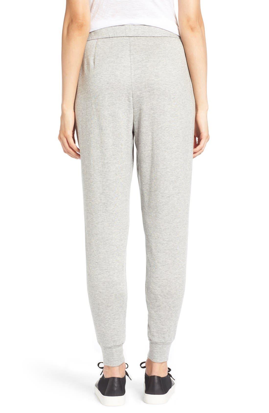 Alternate Image 2  - Eileen Fisher Slouchy Pleat Front Ankle Pants