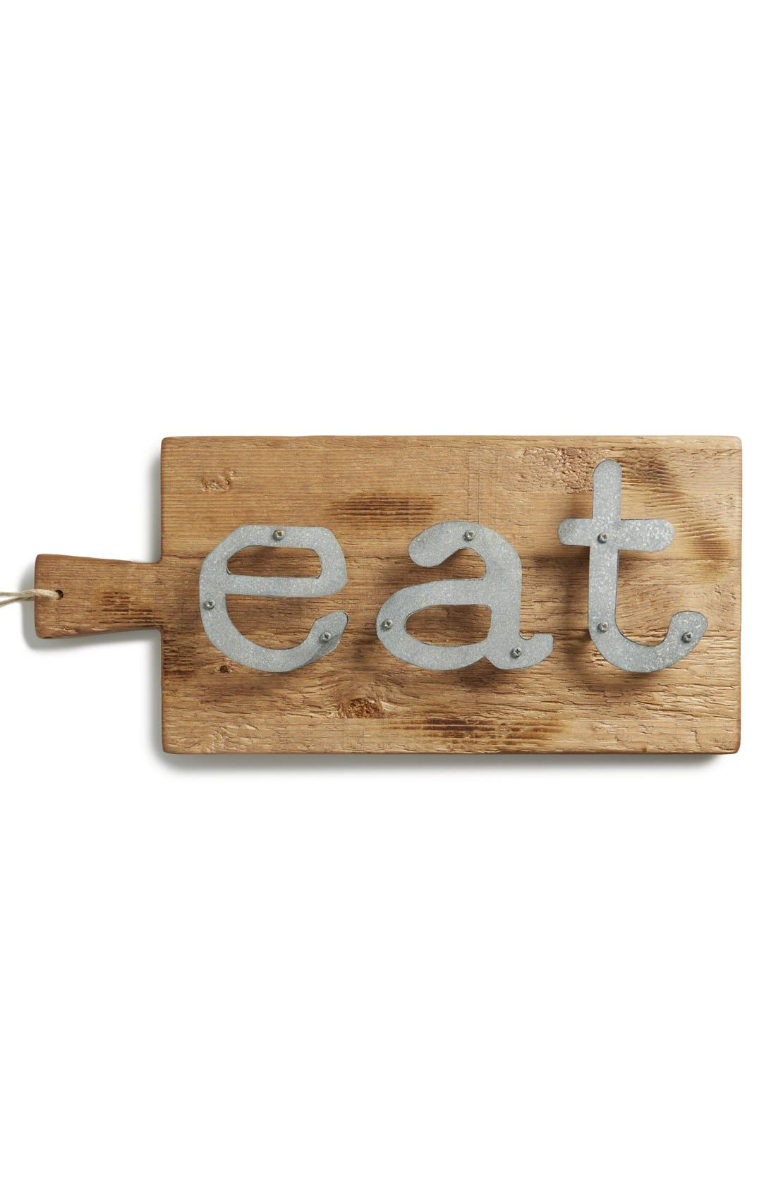 Main Image - Europe2You 'Eat' Reclaimed Wood Wall Art