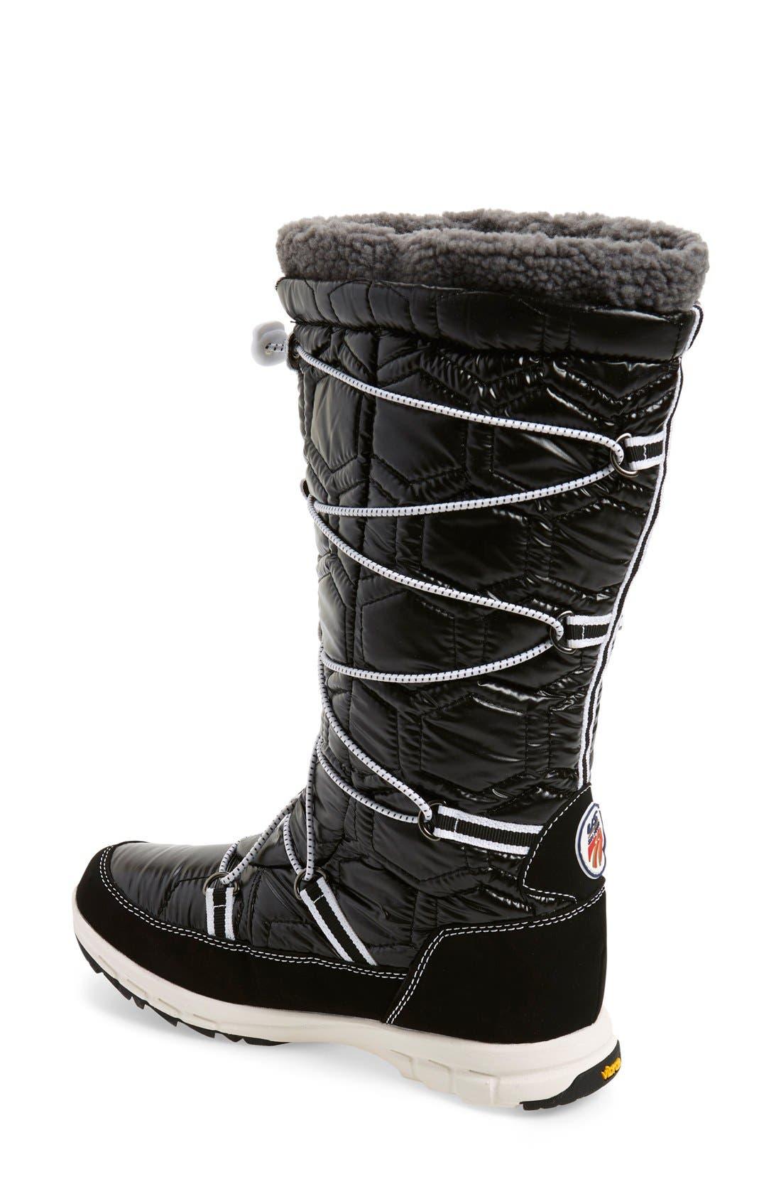 Alternate Image 2  - Khombu 'Slalom' Tall Waterproof Boot (Women)