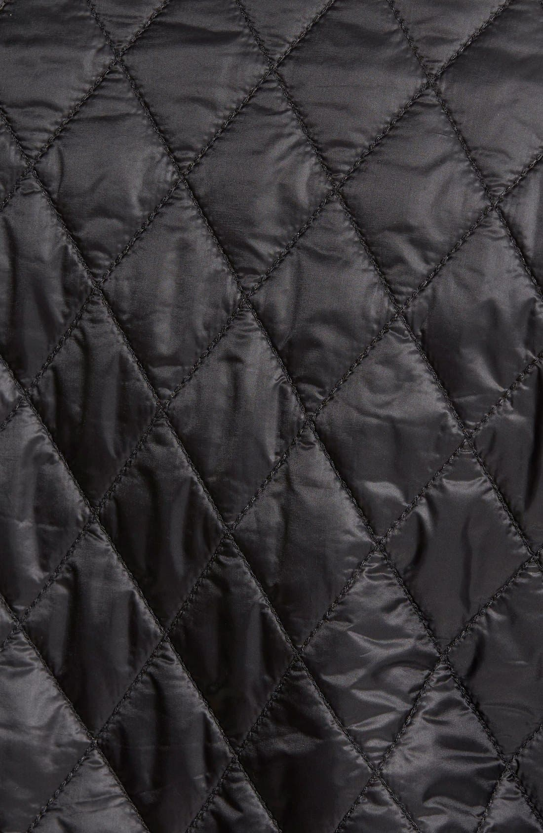 Alternate Image 6  - Burberry Brit 'Howson' Quilted Bomber Jacket
