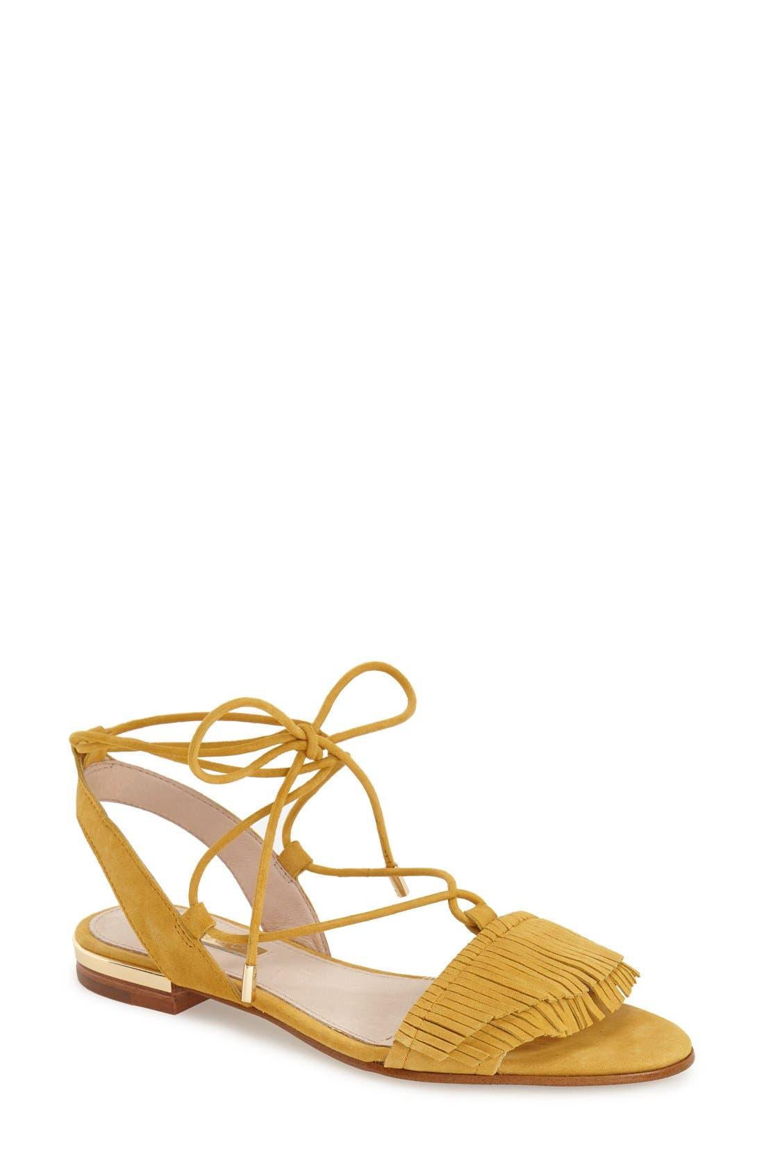 Main Image - Louise et Cie 'Cyan' Fringe Sandal (Women)